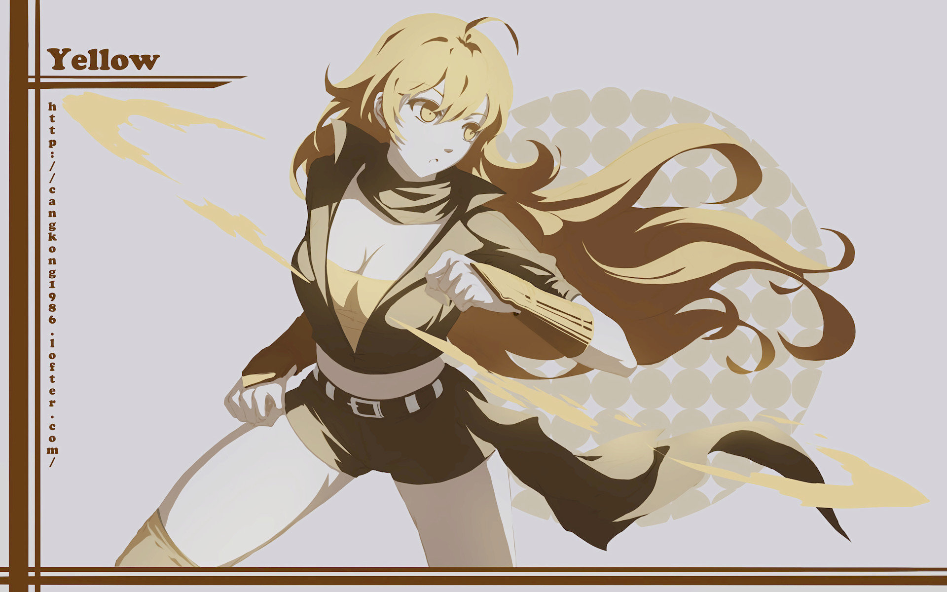 Free Yang Xiao Long high quality background ID:437547 for hd 1920x1200 computer