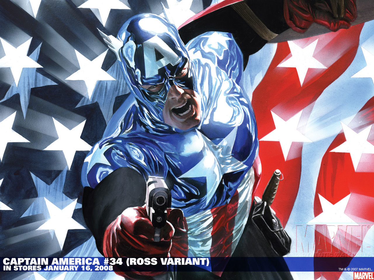 High Resolution Captain America Marvel Comics Hd 1280x960