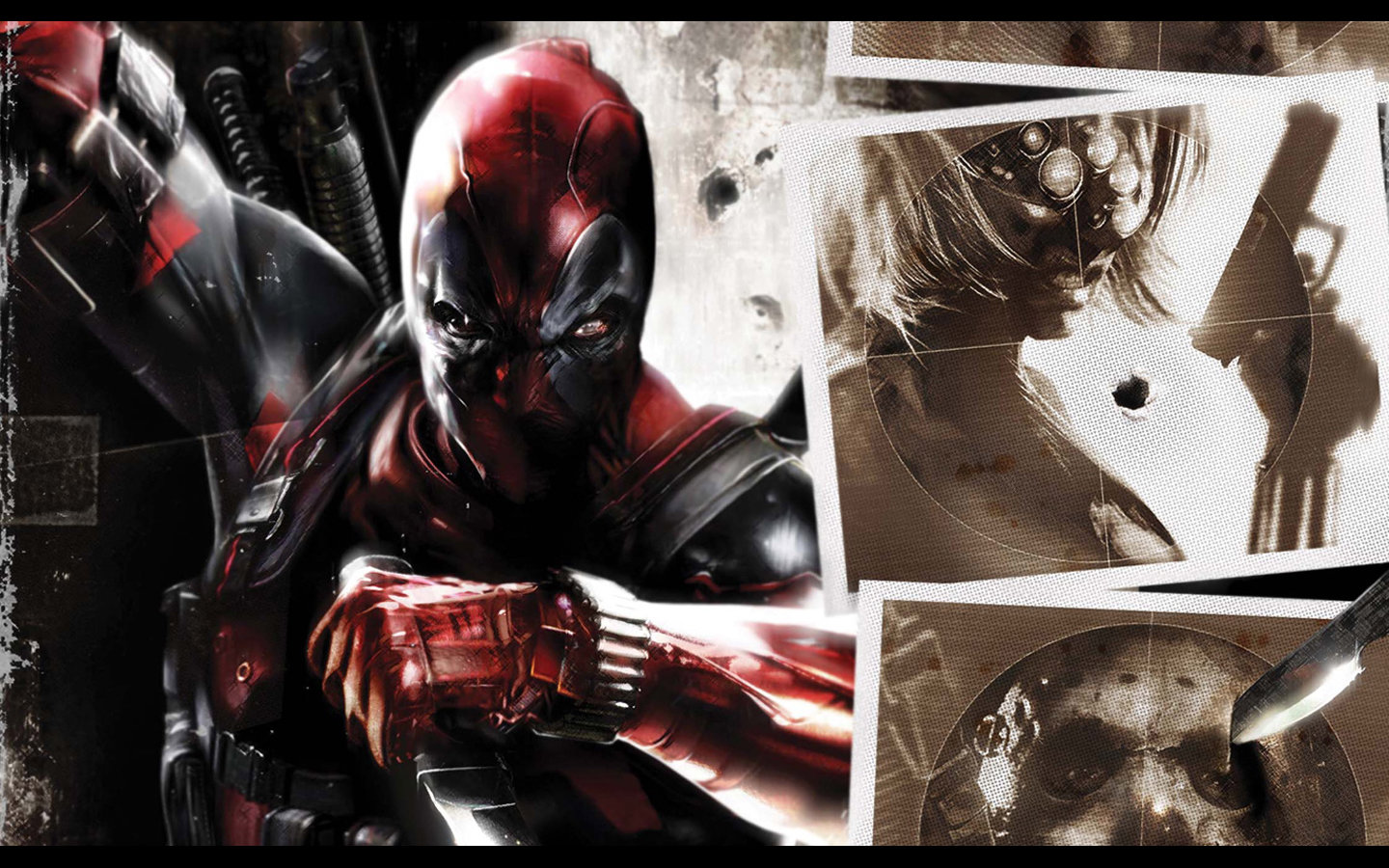 Free Deadpool high quality background ID:350281 for hd 1440x900 PC
