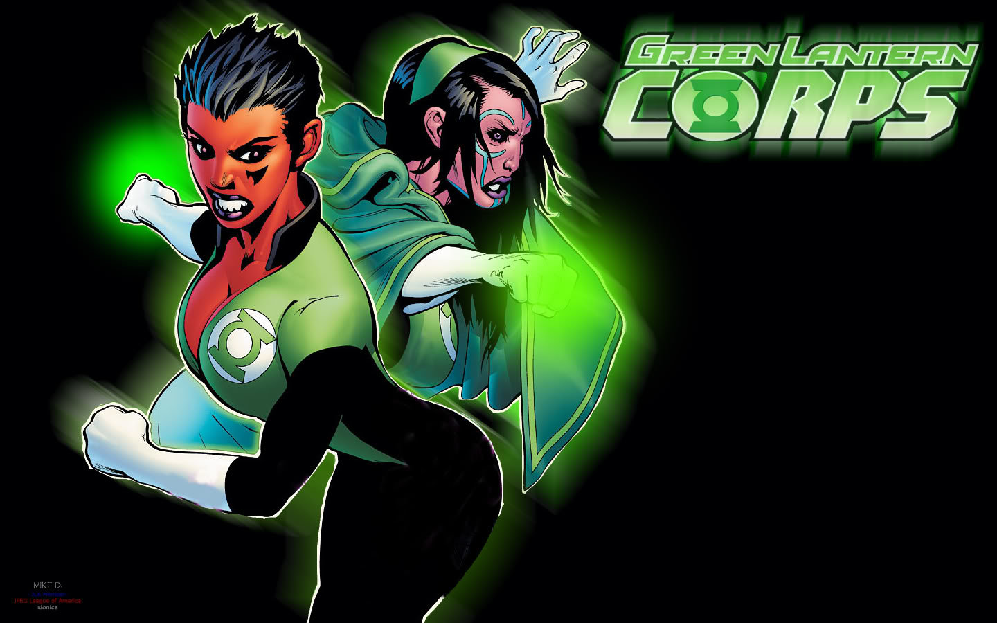 Best Green Lantern Corps background ID:277416 for High Resolution hd 1440x900 PC