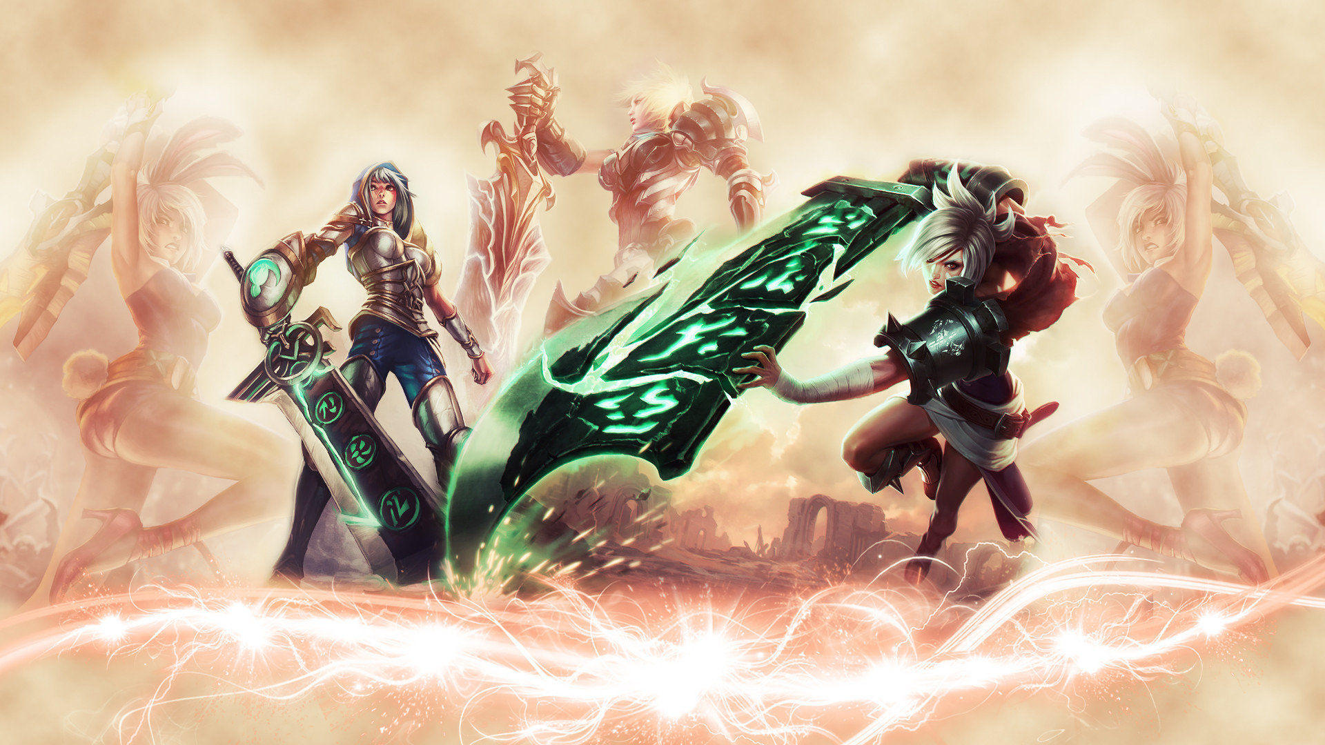Riven League Of Legends Wallpapers Hd For Desktop Backgrounds