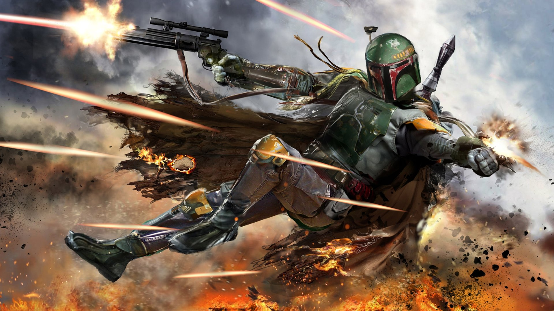High resolution Boba Fett 1080p background ID:460126 for desktop