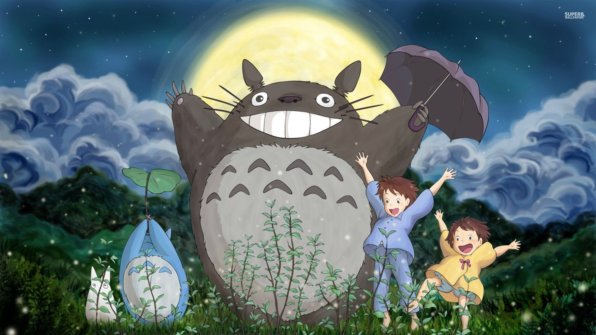 High resolution My Neighbor Totoro full hd 1920x1080 wallpaper ID:259360 for computer