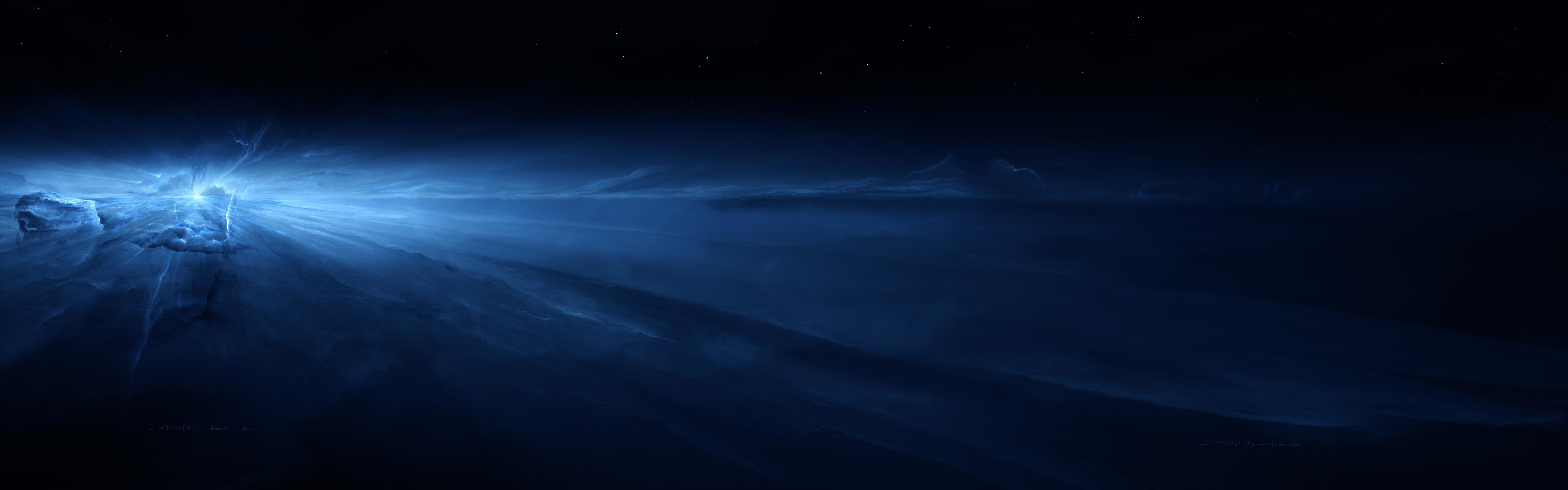 High resolution Planets dual screen 5760x1800 background ID:153353 for PC