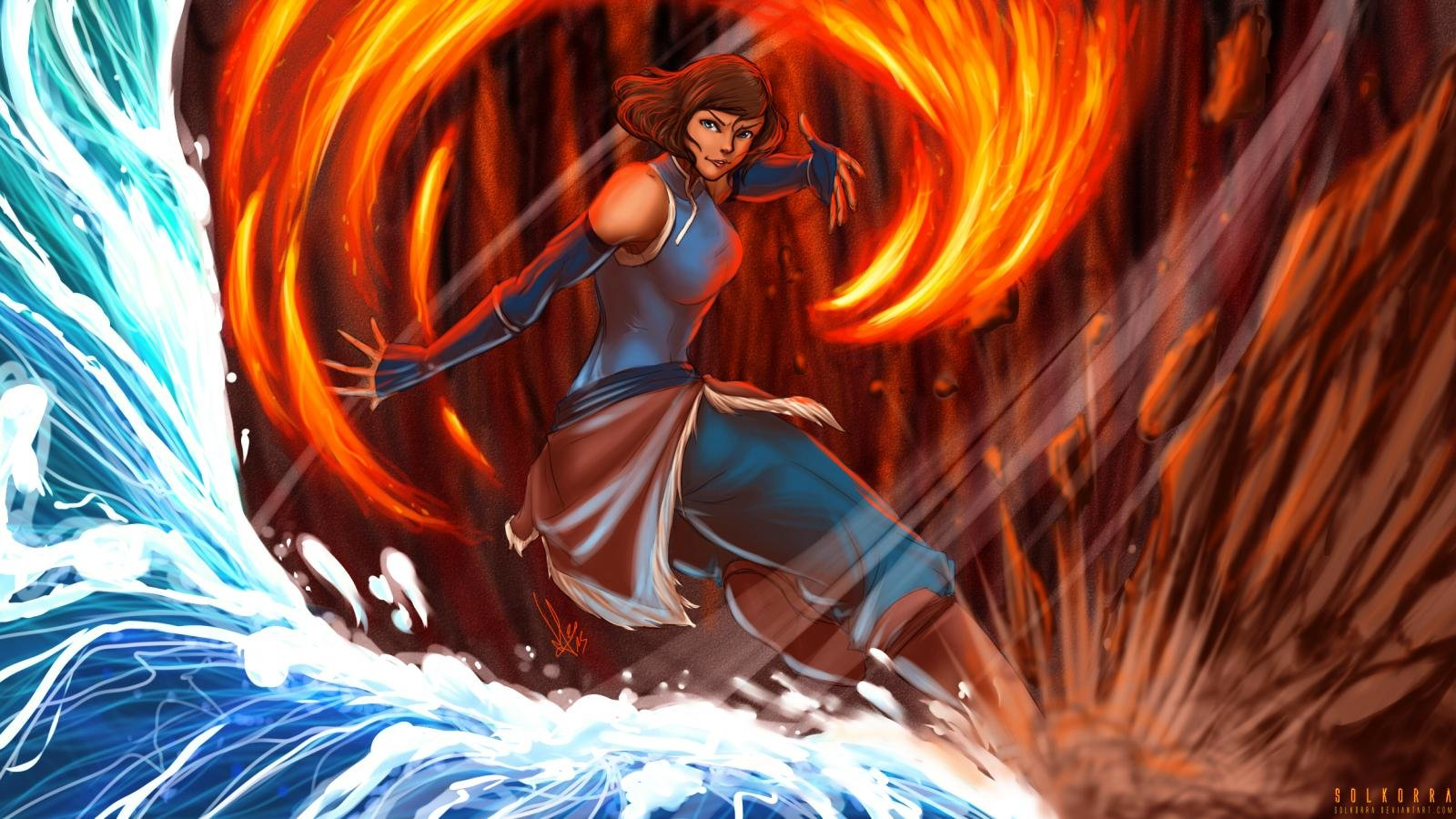Free download Avatar: The Legend Of Korra background ID:243433 hd 1600x900 for desktop