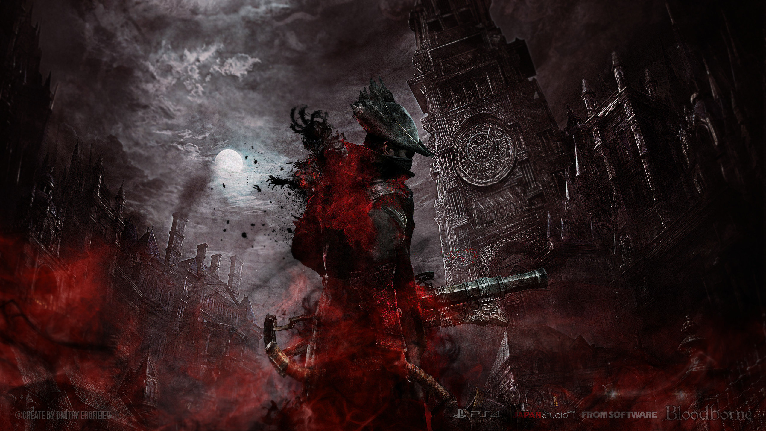 High Resolution Bloodborne Hd 2560x1440 Wallpaper ID61989 For Desktop