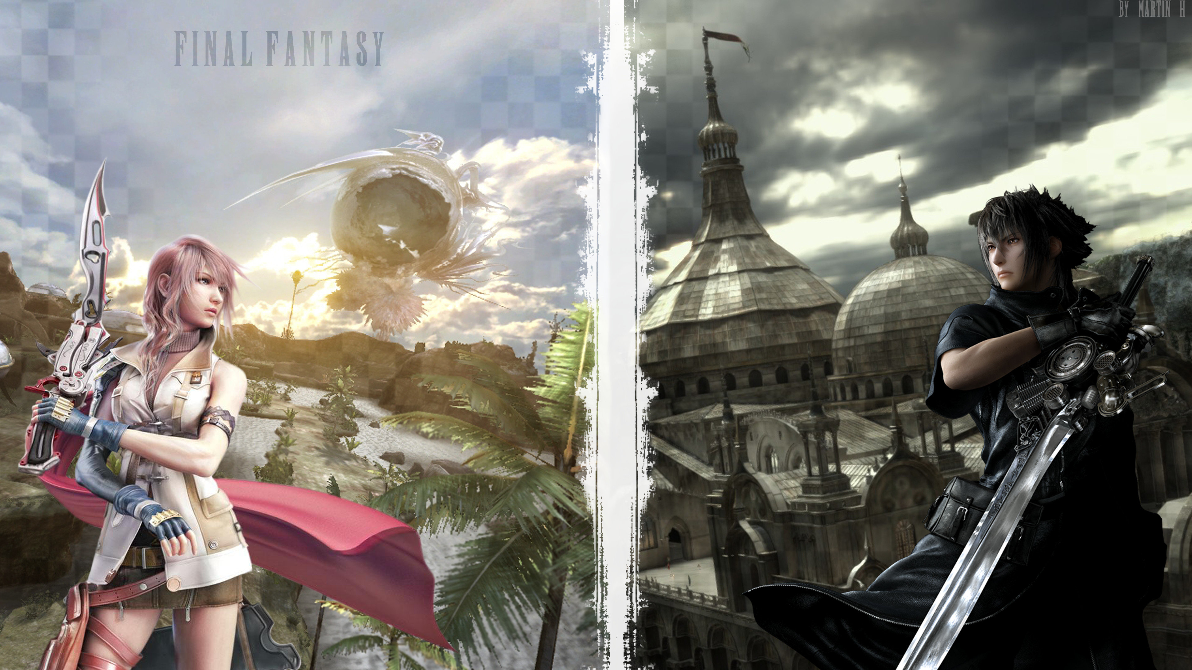 Final Fantasy Type 0 Hd Games 4k Wallpapers Images: Final Fantasy Wallpapers 3840x2160 Ultra HD 4k Desktop