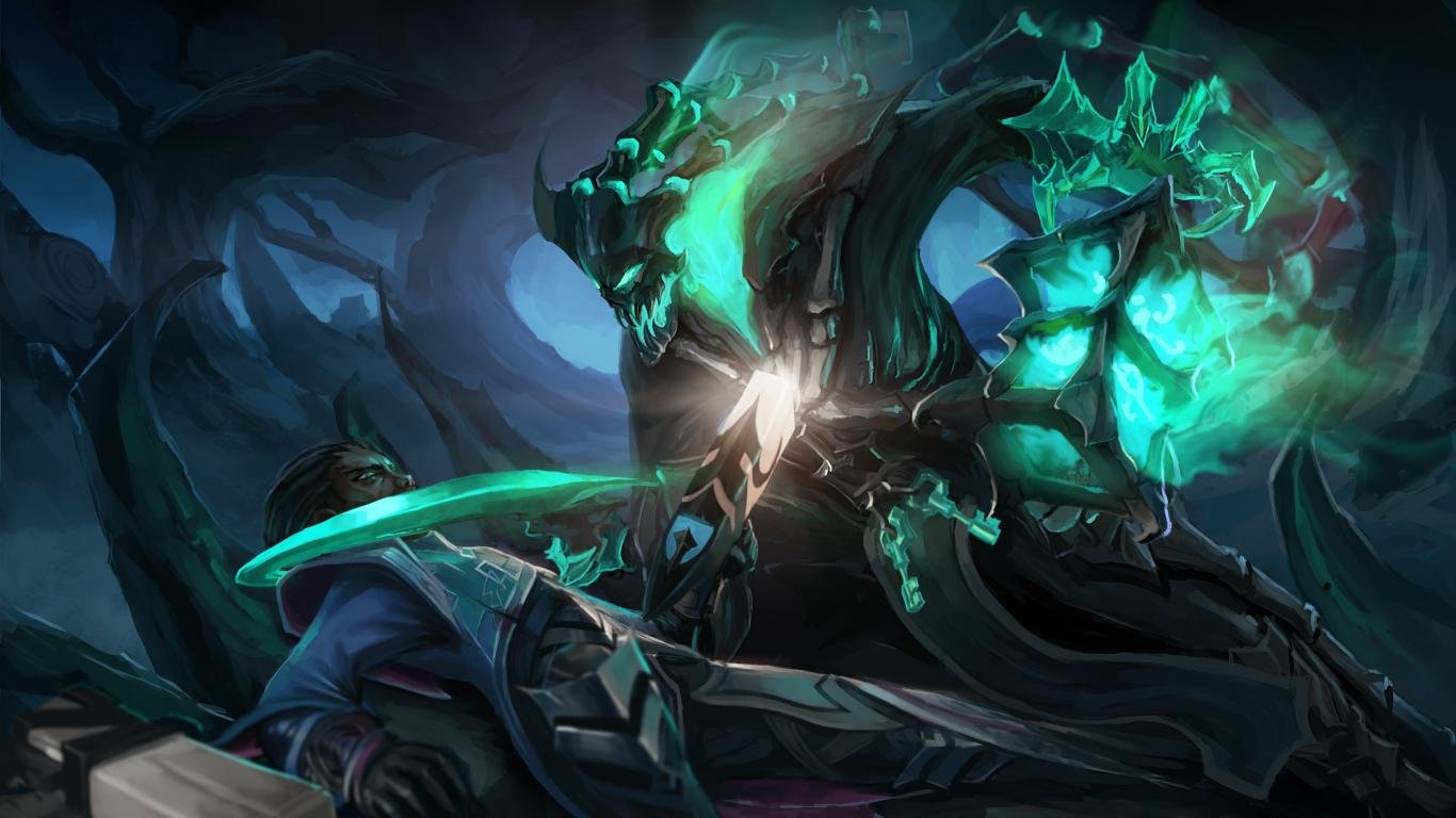 Thresh League Of Legends wallpapers x laptop desktop