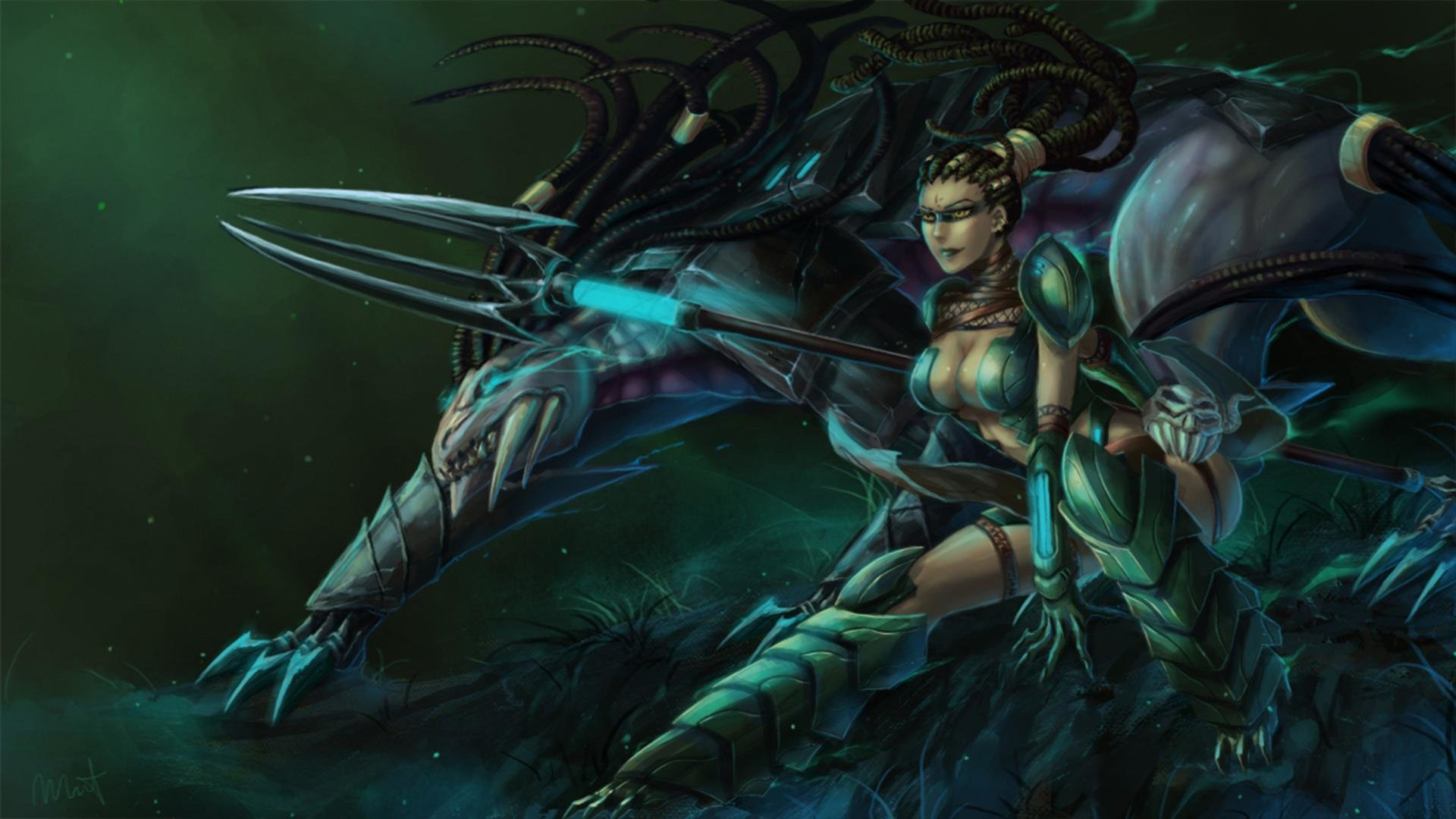 High Resolution Nidalee League Of Legends Full Hd 1920x1080