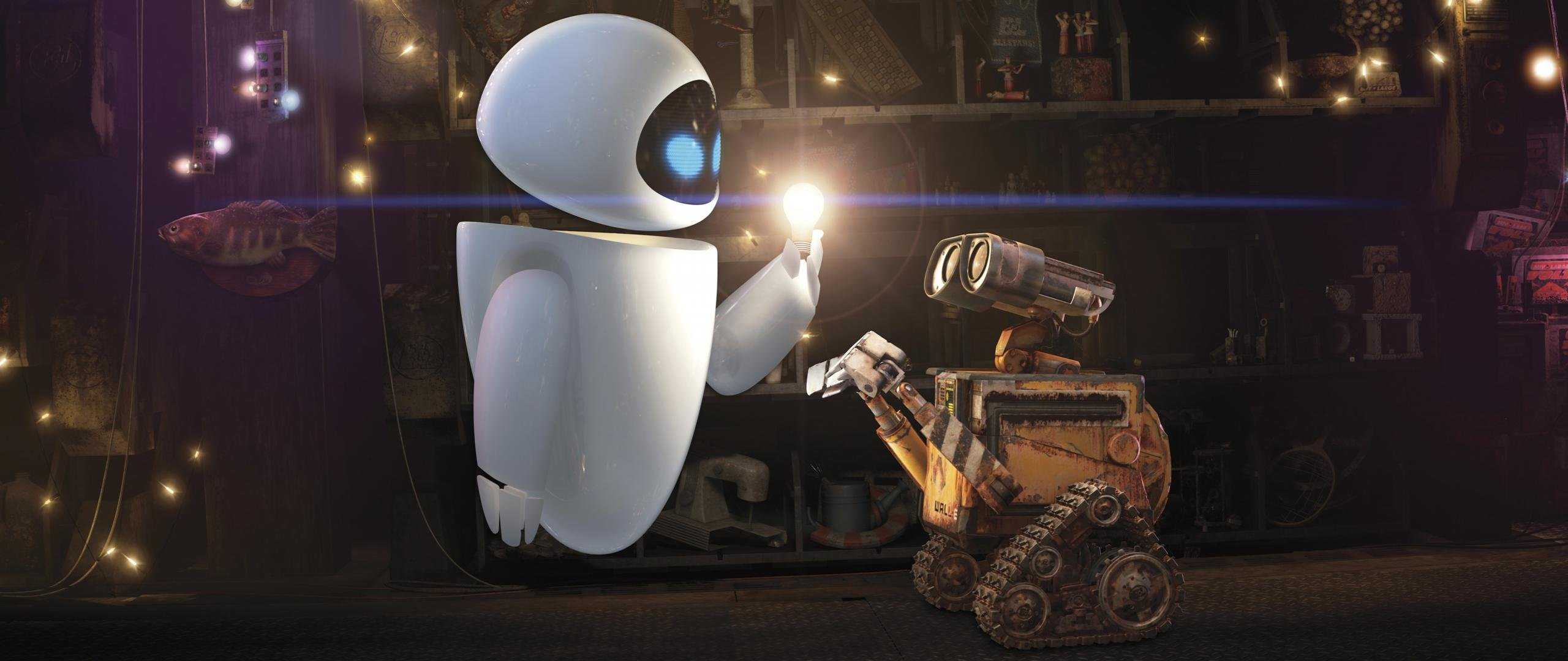 Free download Wall.E background ID:25894 hd 2560x1080 for PC