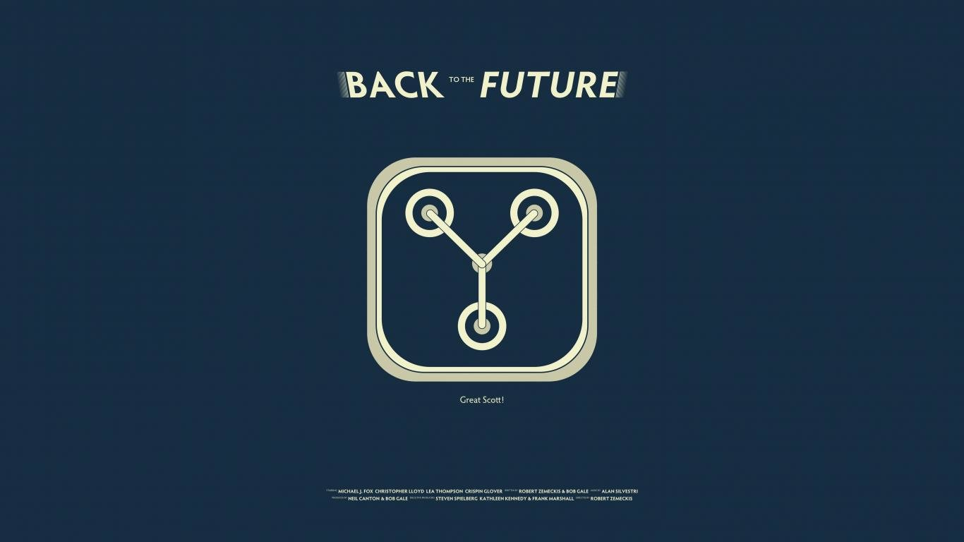 Back To The Future Wallpapers 1366x768 Laptop Desktop Backgrounds