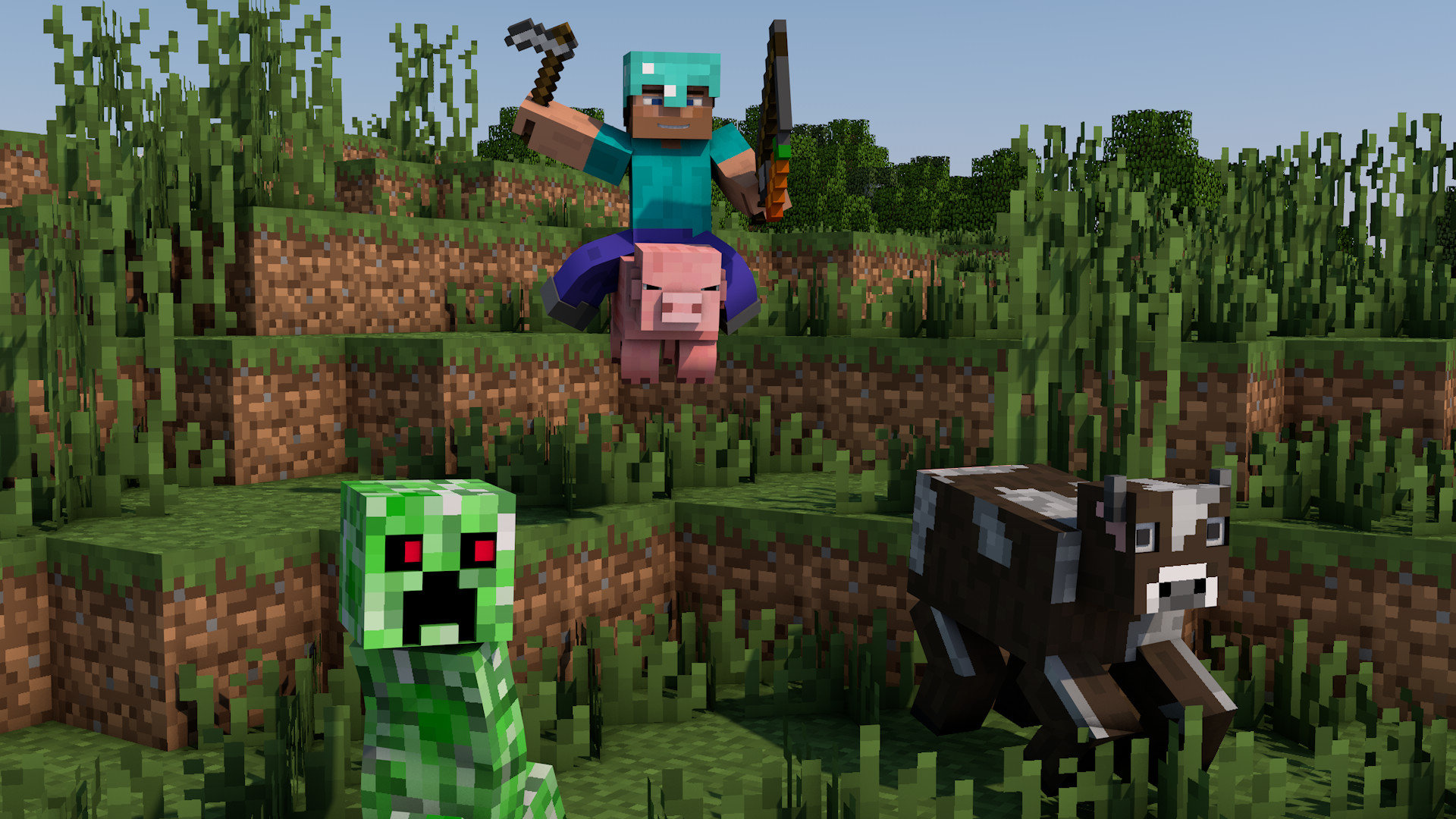 Free Minecraft high quality wallpaper ID:385592 for full hd PC