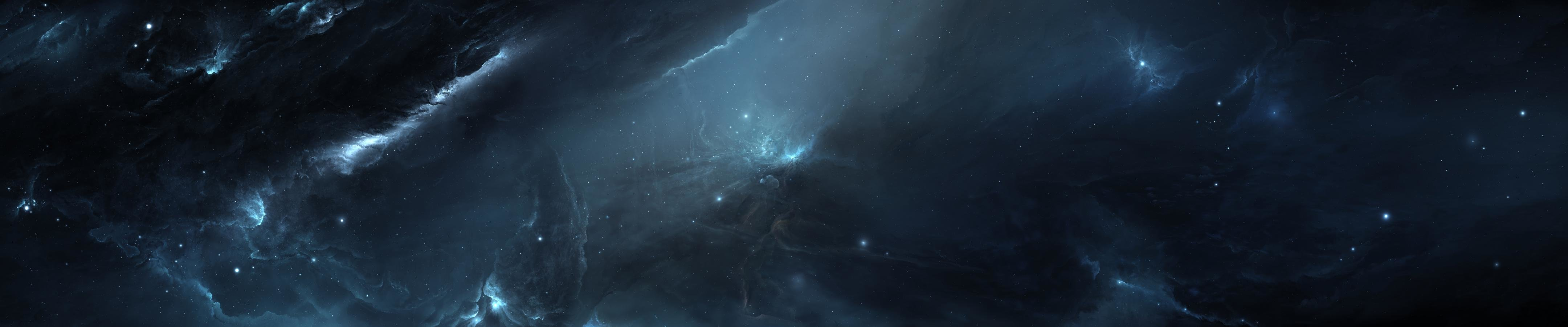 Free download Nebula wallpaper ID:91459 triple monitor 4320x900 for desktop