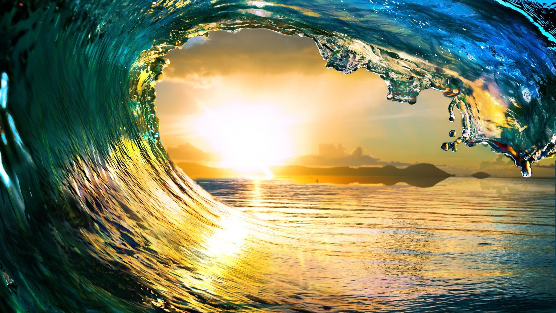 Best Wave Wallpaper Id 384745 For High Resolution Full Hd Desktop