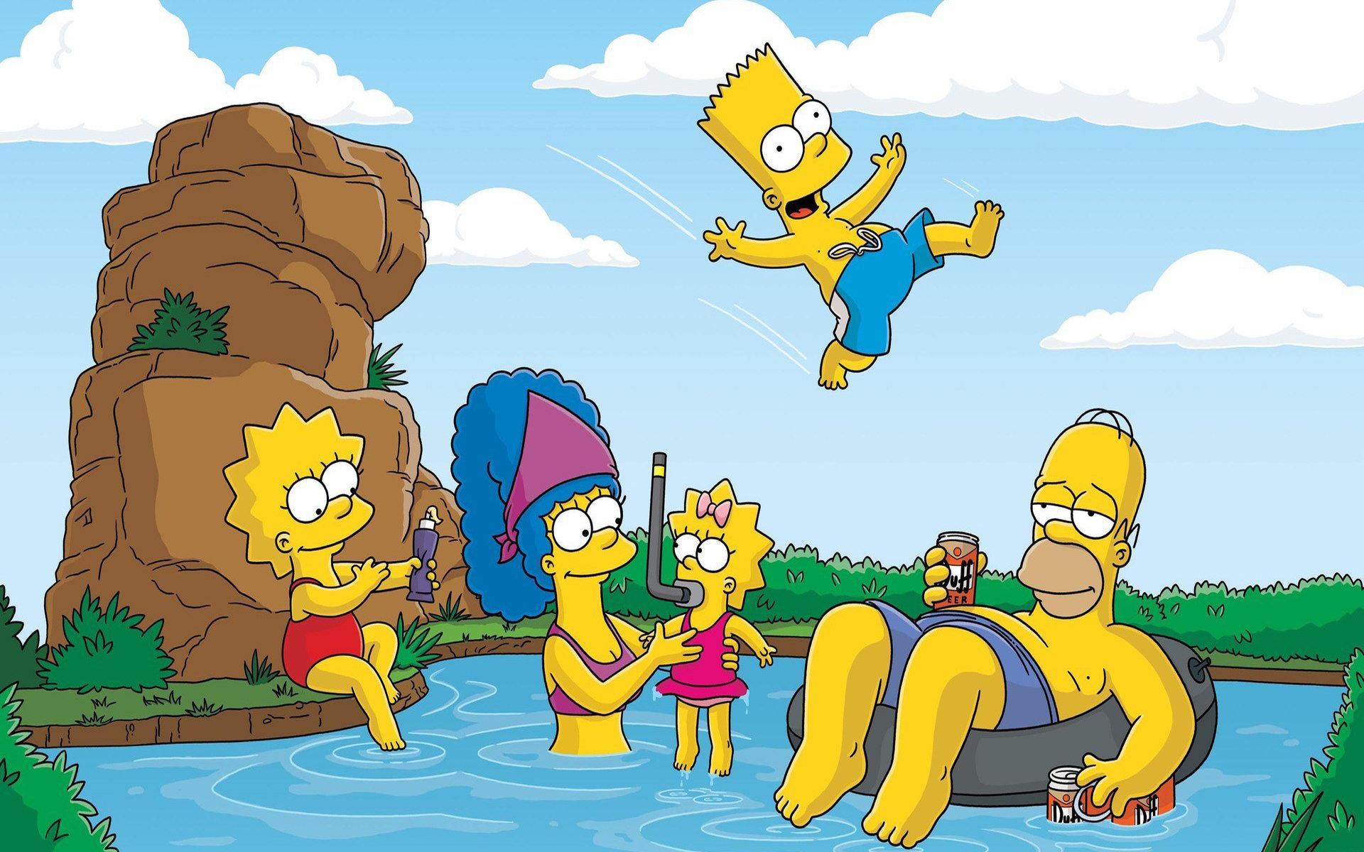 awesome the simpsons free background id 351441 for hd 1920x1200 computer