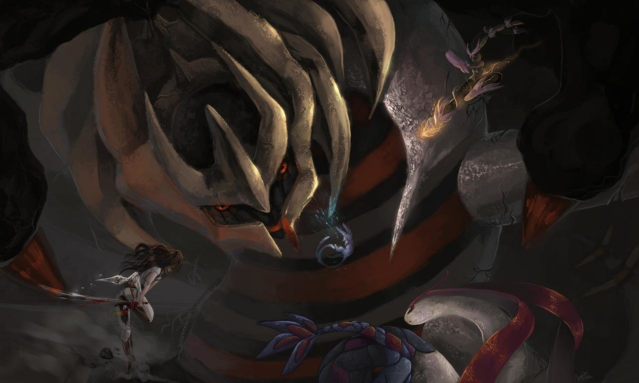 Download hd 1280x768 Giratina (Pokemon) computer background ID:280269 for free