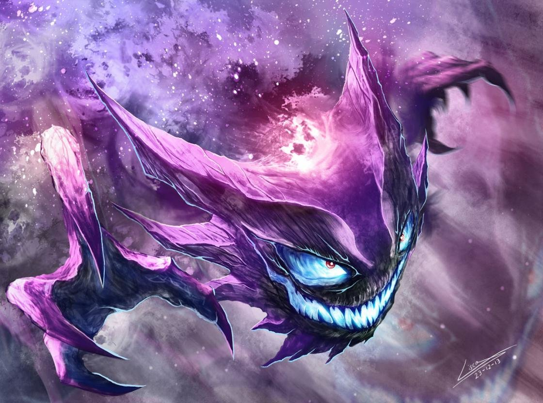 Free Haunter (Pokemon) high quality background ID:280193 for hd 1120x832 PC