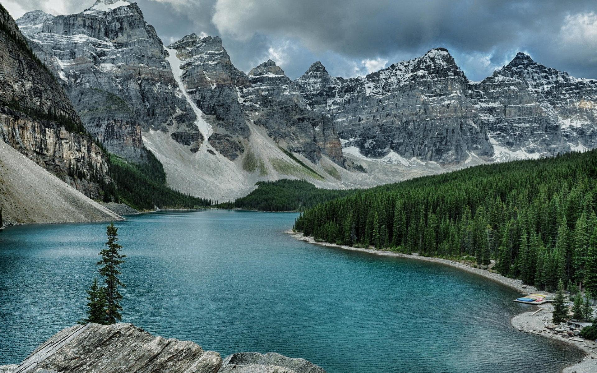 Moraine Lake Wallpapers 1920x1200 Desktop Backgrounds