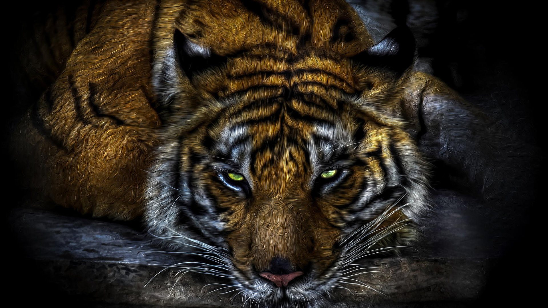 Free download Tiger wallpaper ID:115634 full hd 1080p for PC