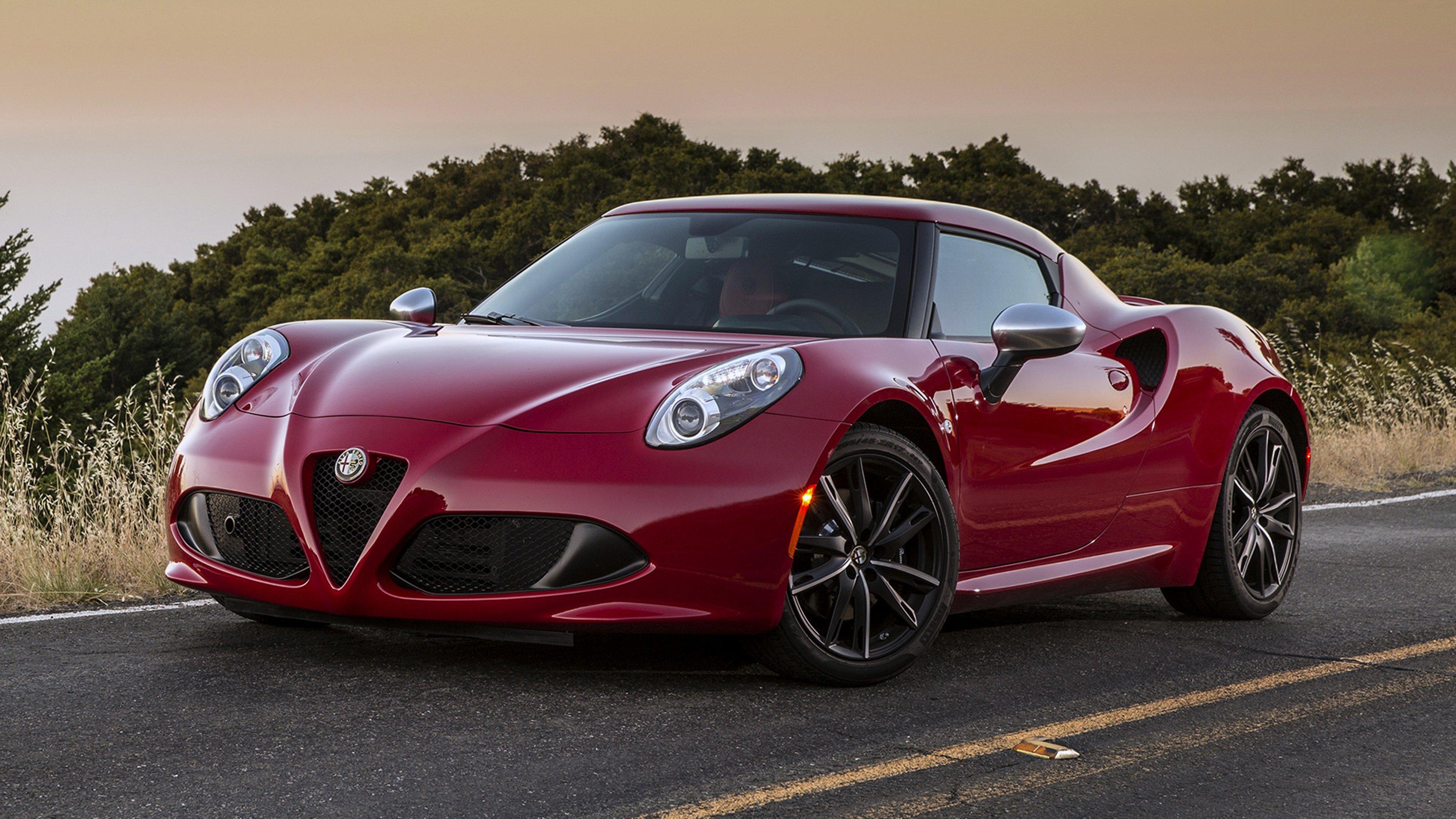 Alfa Romeo 4c Wallpapers Hd For Desktop Backgrounds