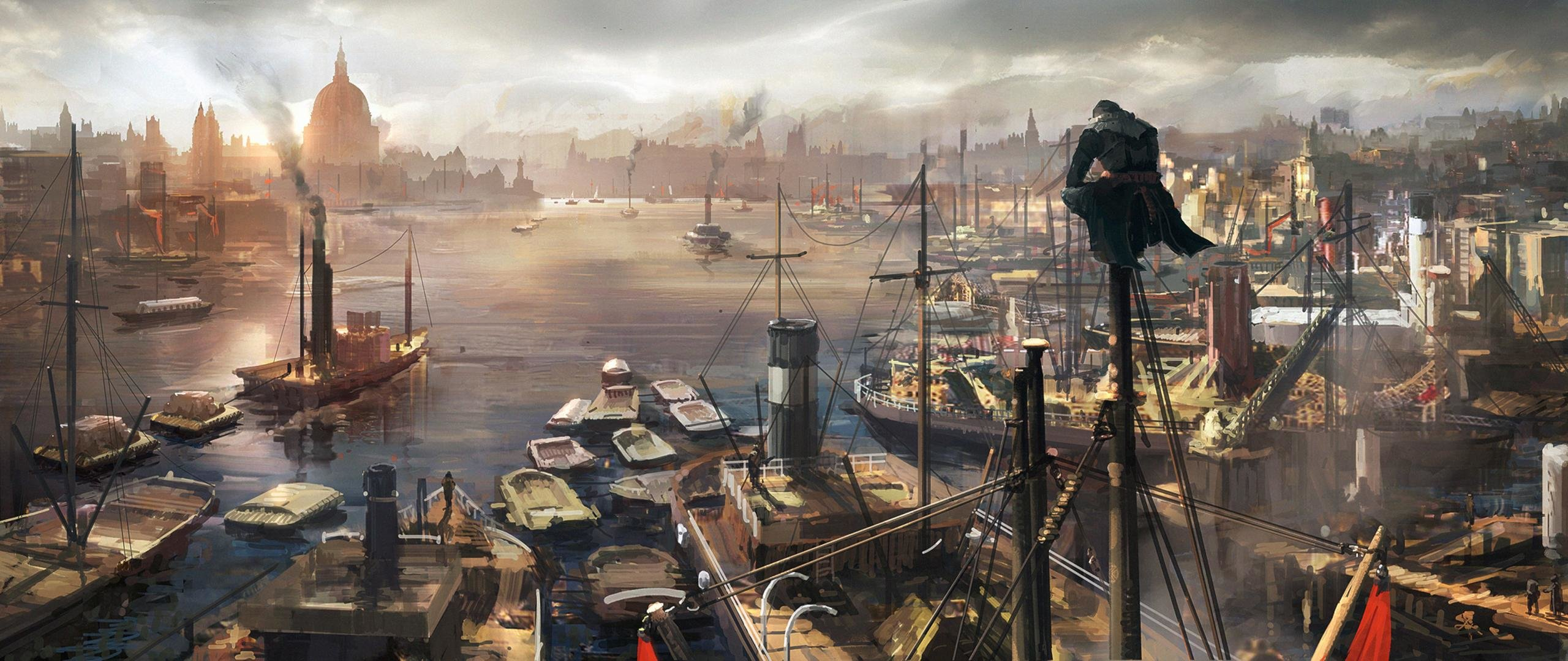 Download Hd 2560x1080 Assassin S Creed Syndicate Pc Wallpaper Id