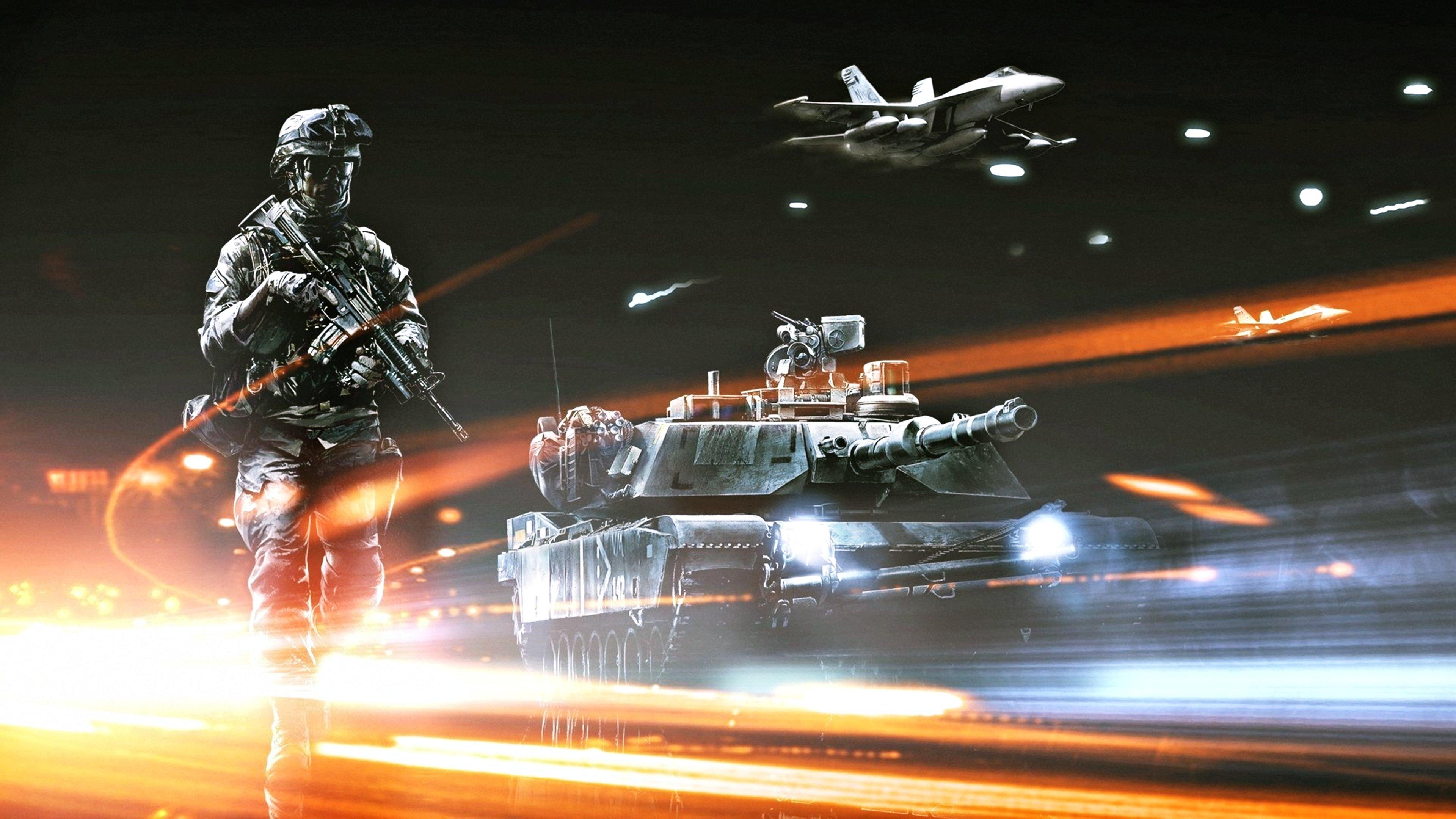 Battlefield 3 Wallpapers 3840x2160 Ultra Hd 4k Desktop Backgrounds