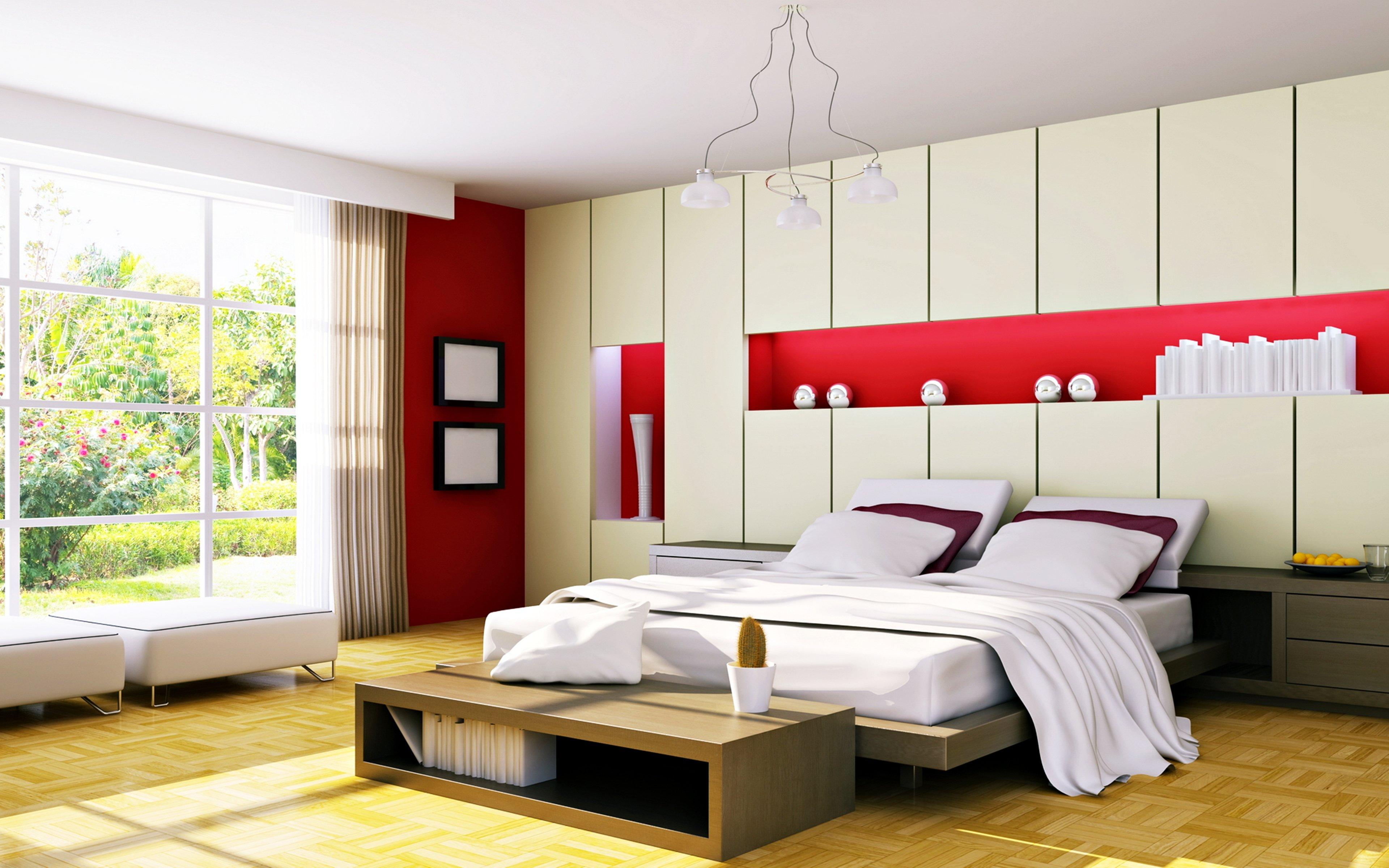 Download Hd 3840x2400 Bedroom Desktop Wallpaper Id227756 For Free