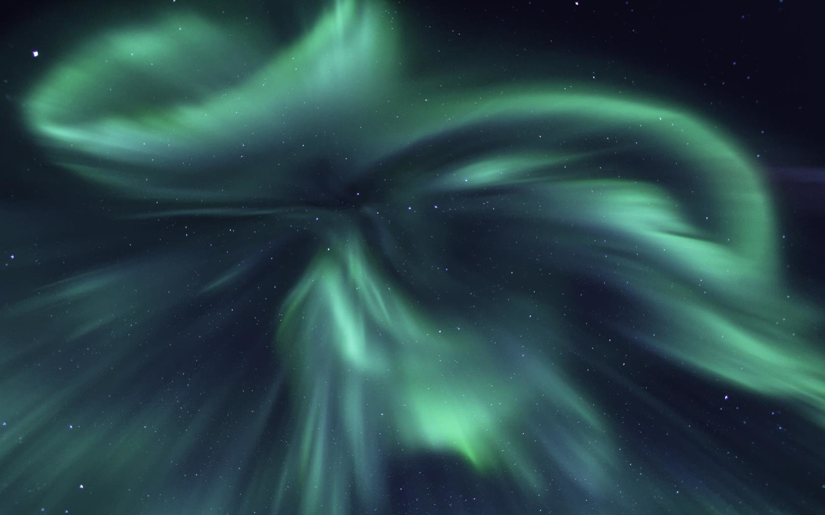 High resolution Aurora Borealis hd 1680x1050 wallpaper ID:283593 for desktop