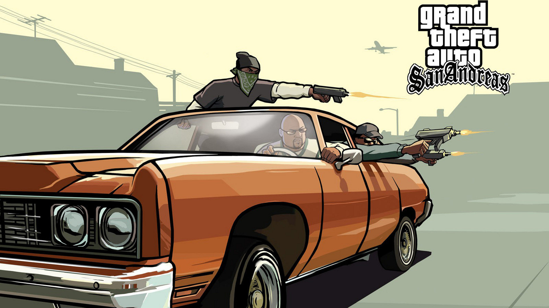 Download Hd P Grand Theft Auto San Andreas Gta Sa Desktop Wallpaper Id