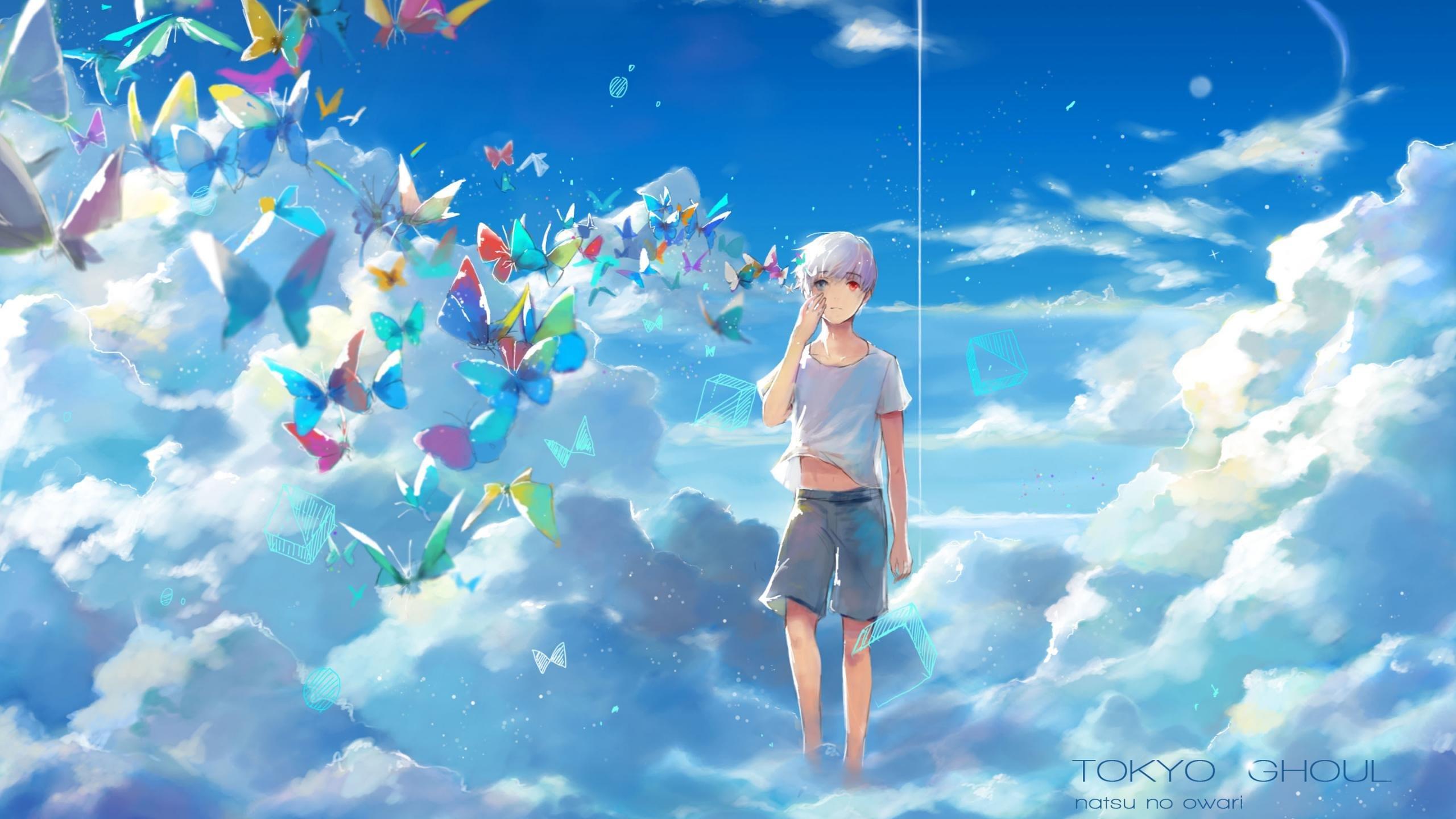 High resolution Ken Kaneki hd 2560x1440 wallpaper ID:150136 for desktop
