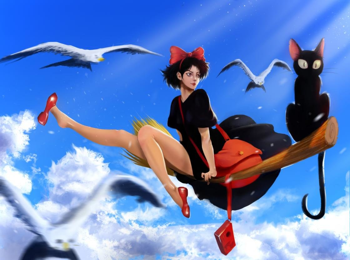 Download hd 1120x832 Kiki's Delivery Service PC background ID:360372 for free