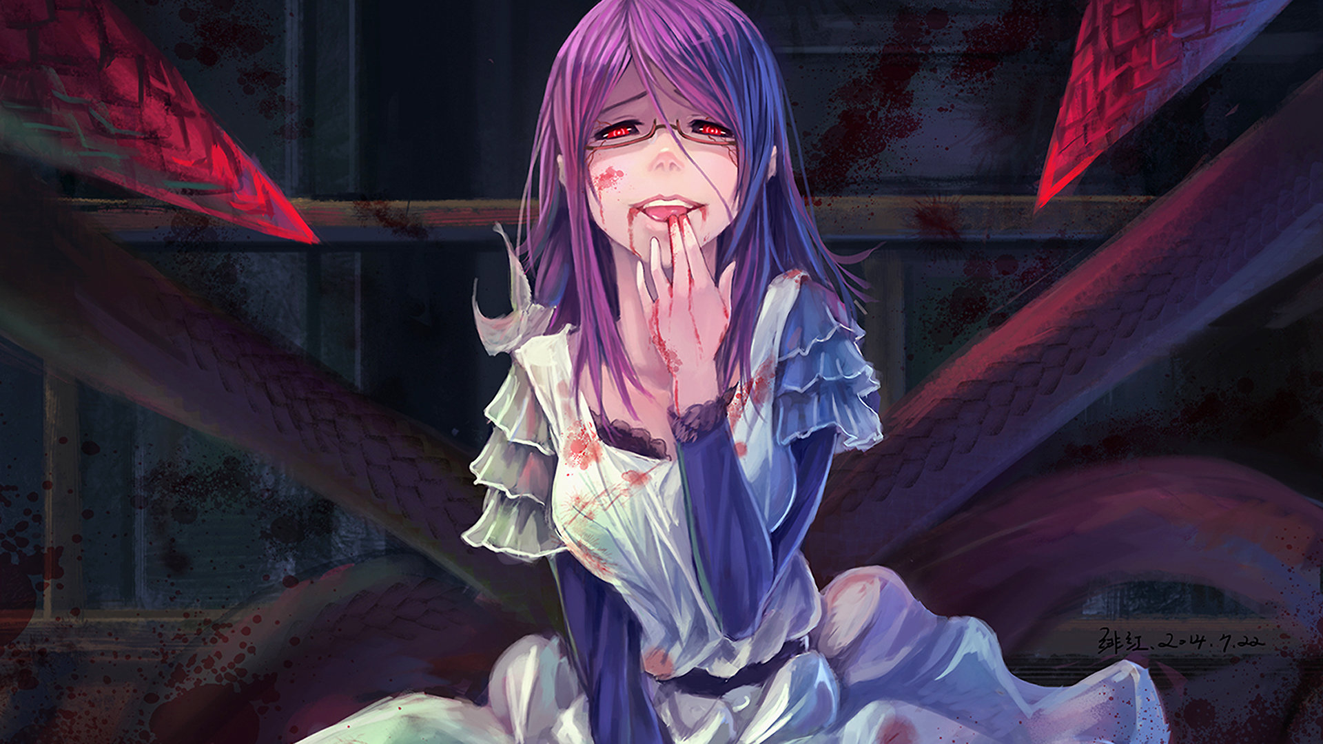 Download hd 1080p Rize Kamishiro PC background ID:150325 for free
