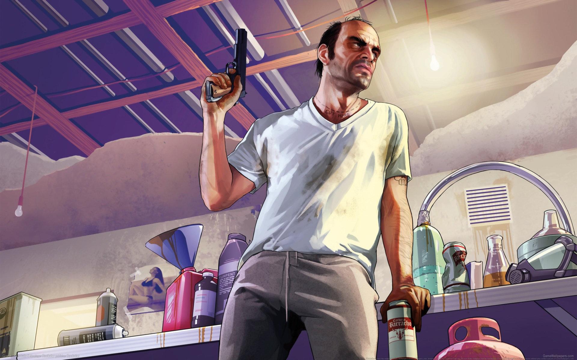 Free Download Grand Theft Auto V Gta 5 Wallpaper Id195070 Hd