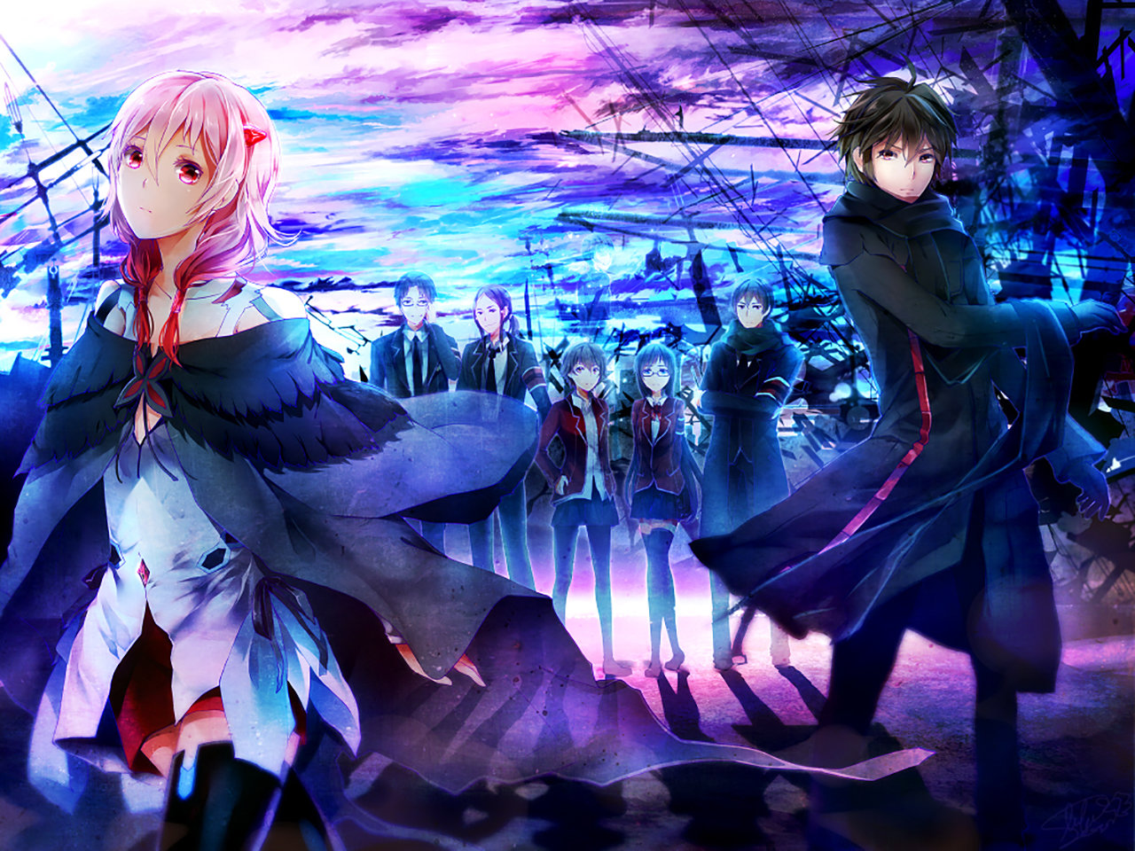 Awesome Guilty Crown free wallpaper ID:254416 for hd 1280x960 PC