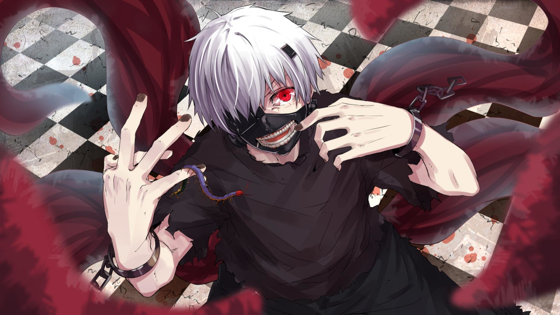 Free Ken Kaneki high quality background ID:150060 for 1080p PC