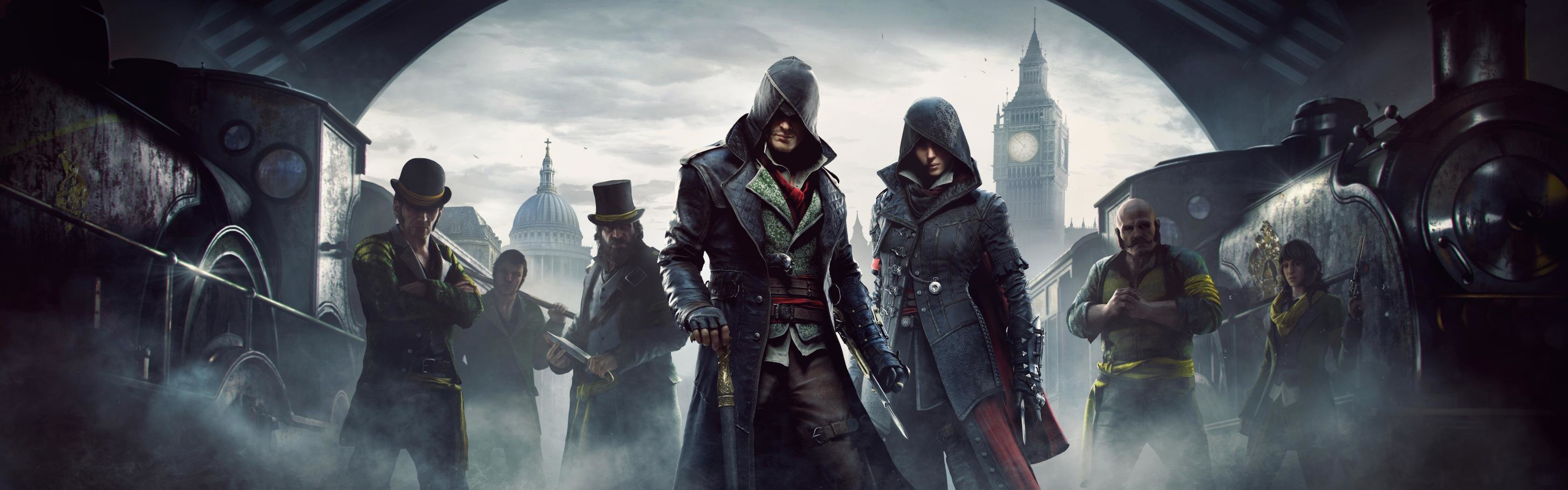 Dual Monitor Assassin S Creed Wallpapers Hd Backgrounds