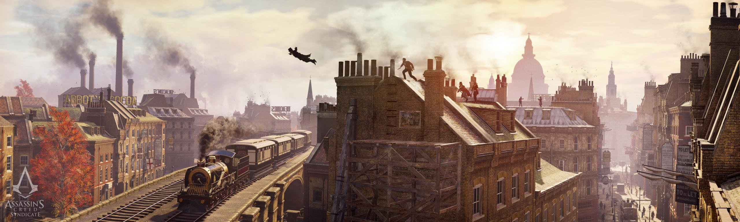 Free Assassin's Creed: Syndicate high quality wallpaper ID:260258 for dual screen 2560x768 desktop