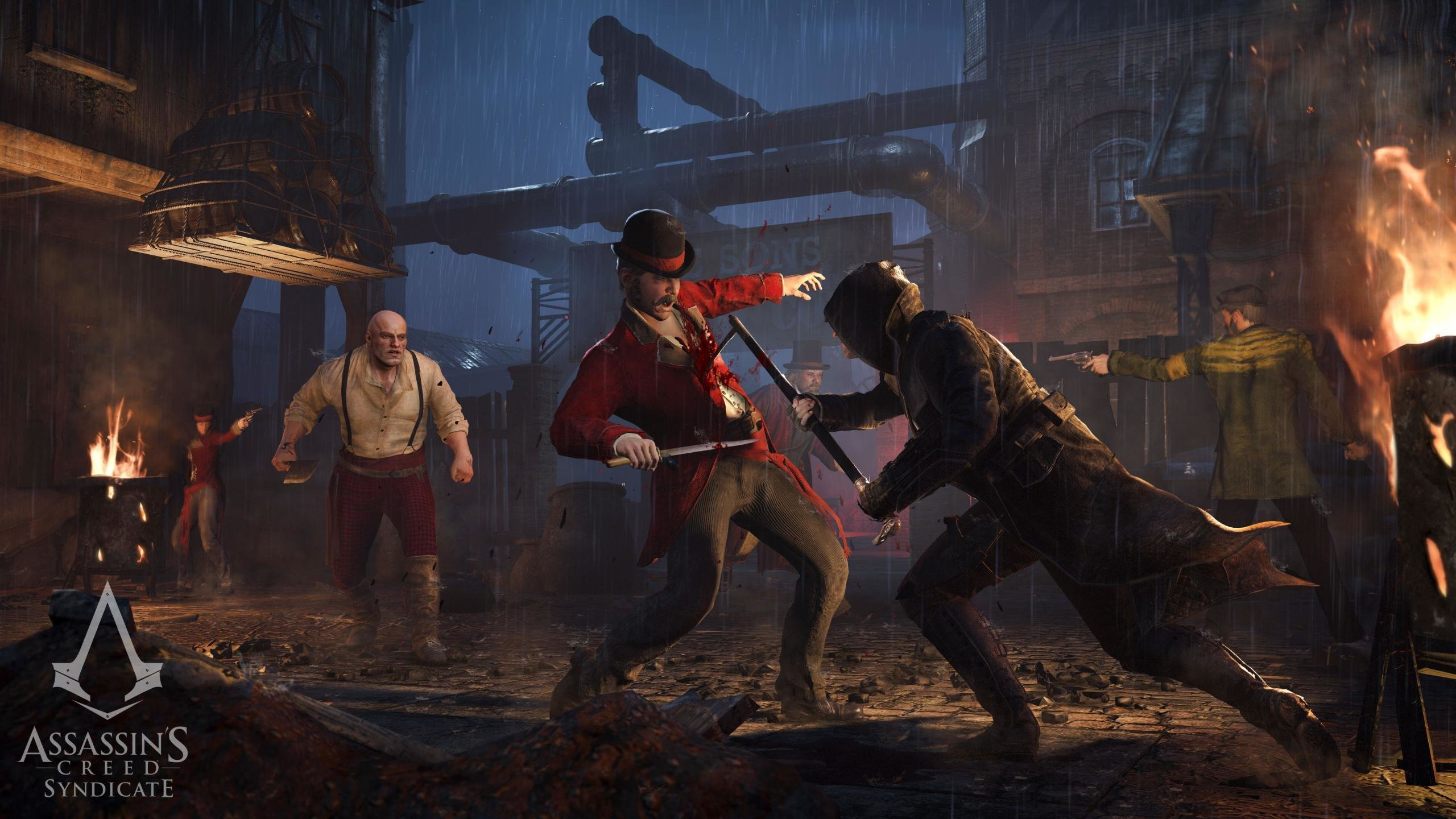 High Resolution Assassin S Creed Syndicate Hd 2560x1440 Wallpaper