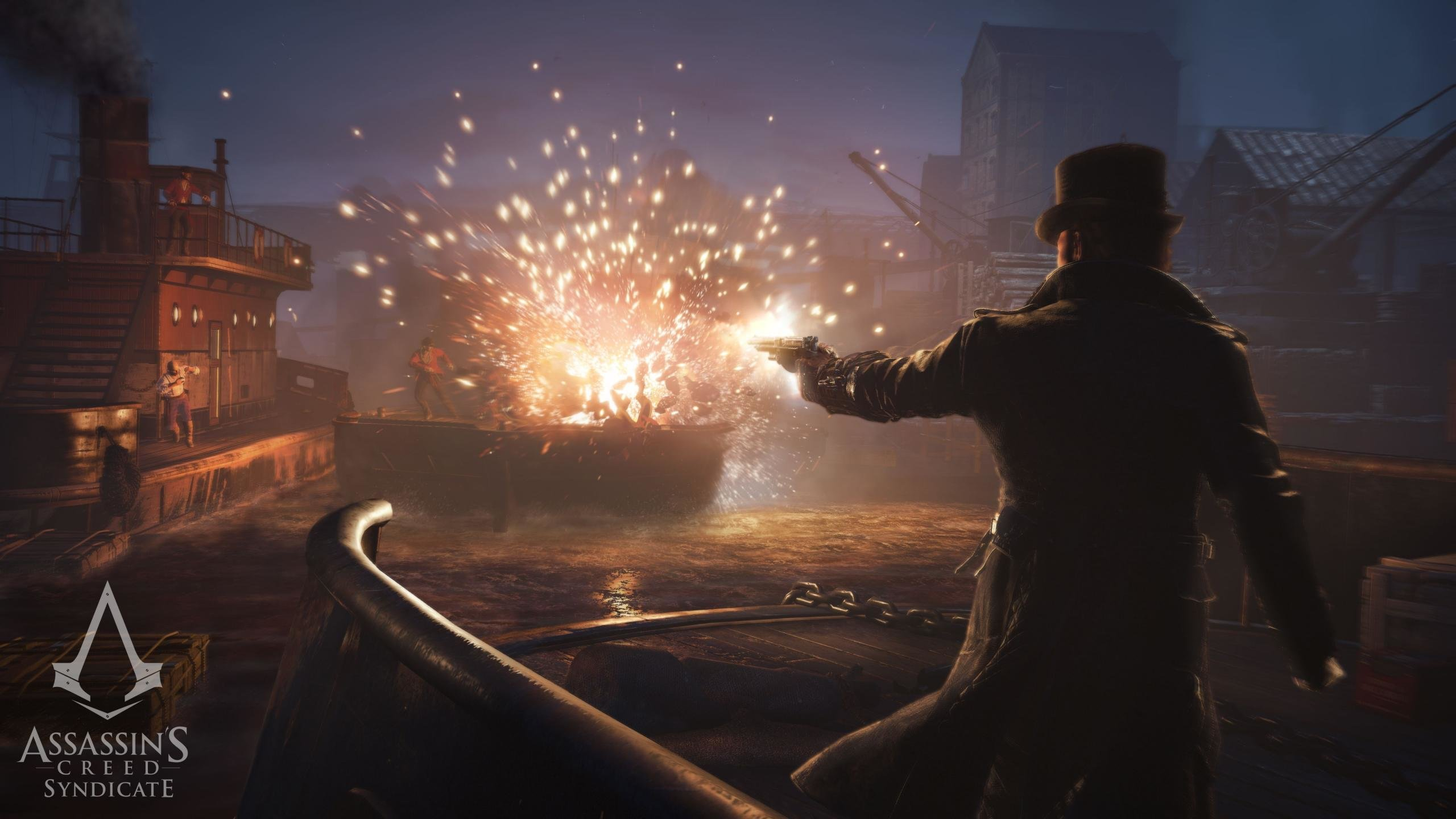 Download Hd 2560x1440 Assassin S Creed Syndicate Desktop Wallpaper Id 260281 For Free