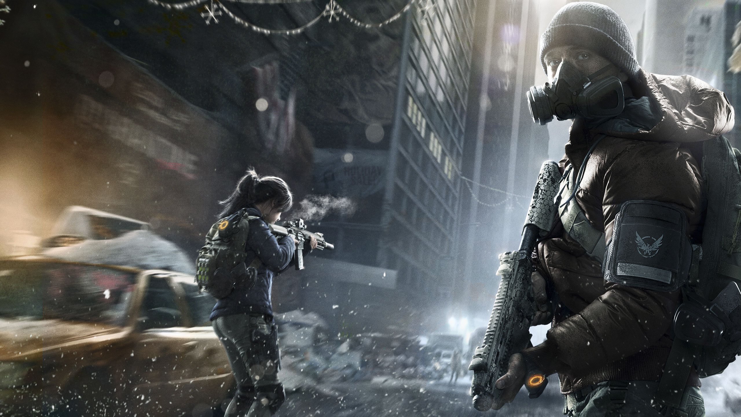 Download Hd 2560x1440 Tom Clancys The Division Computer Wallpaper ID450076 For Free
