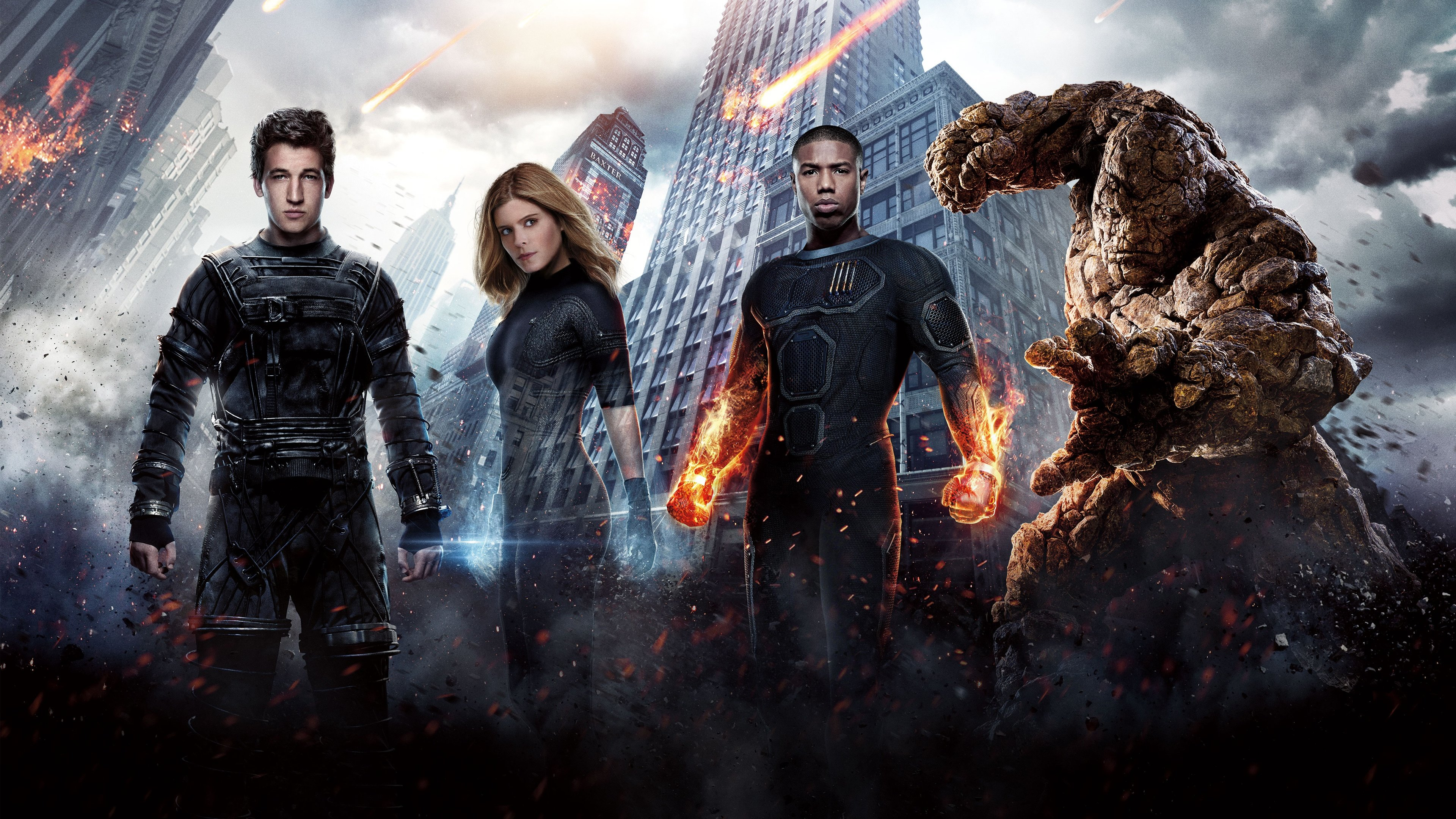 Awesome Fantastic Four Movie Free Wallpaper Id70140 For