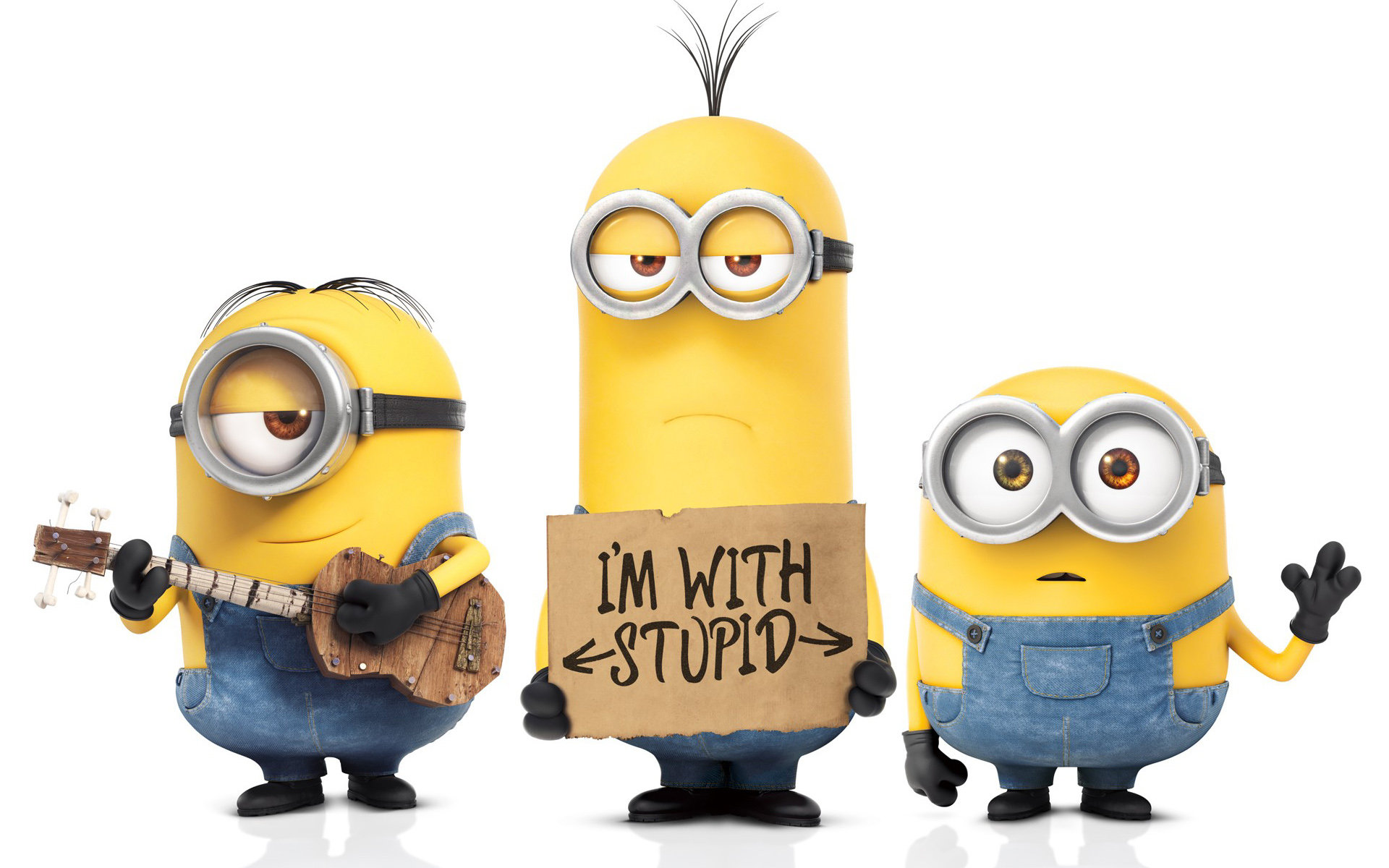 Download hd 1920x1200 Minions computer background ID:70236 for free