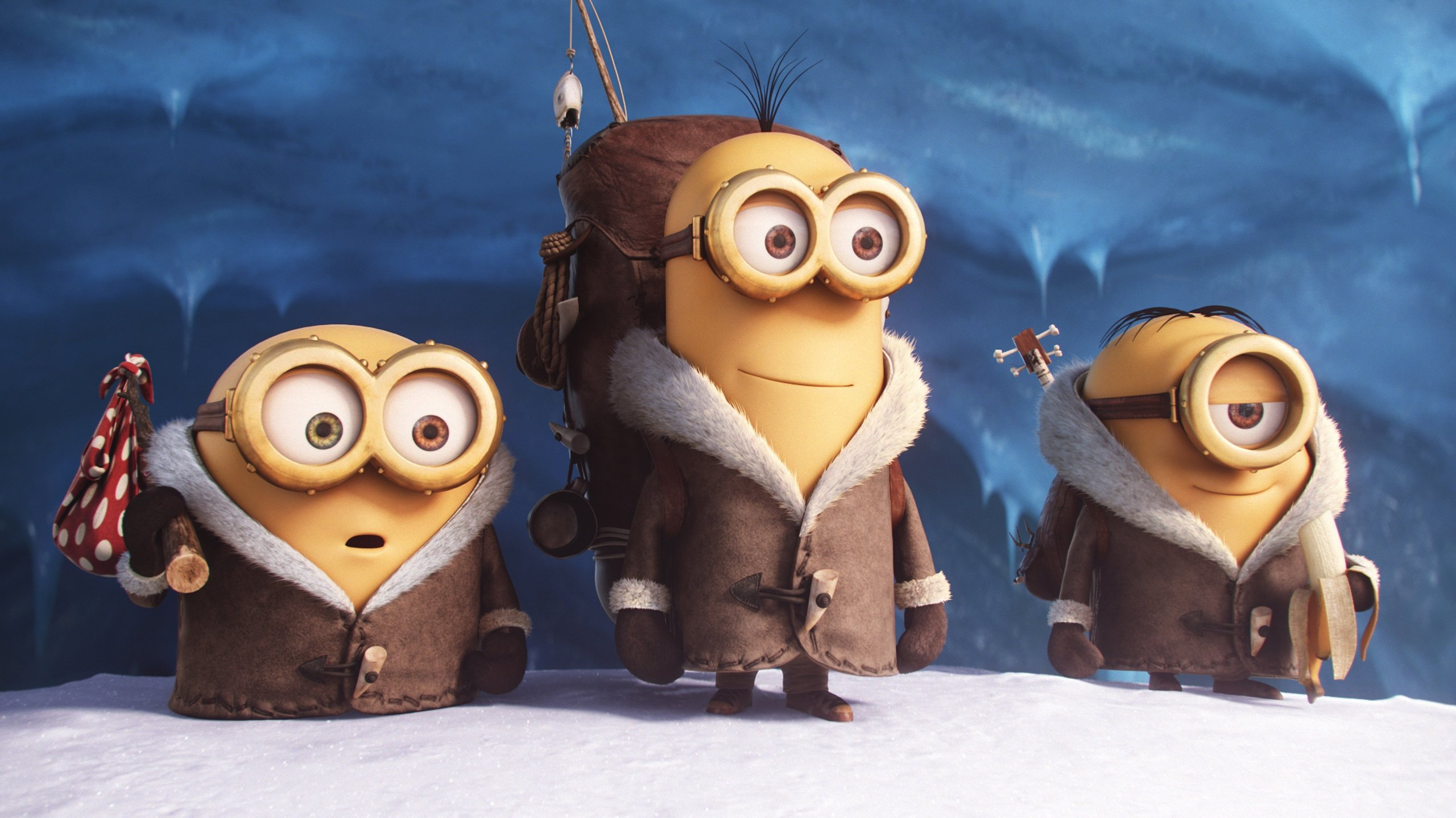 Download hd 2560x1440 Minions PC wallpaper ID:70235 for free