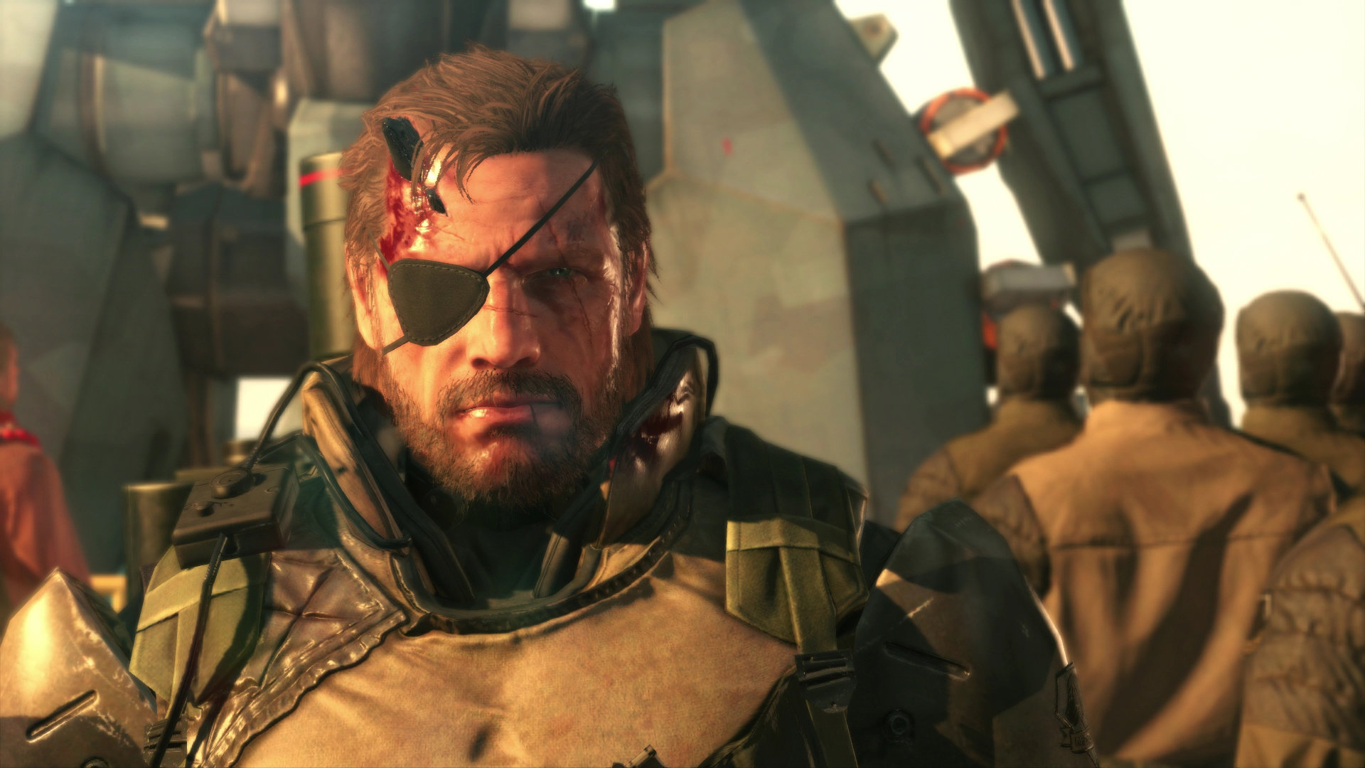 Big Boss Mgs Wallpapers Hd For Desktop Backgrounds