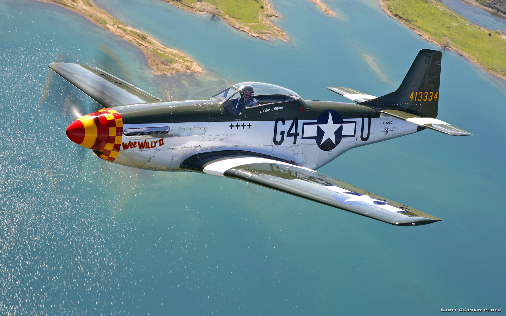 Download Hd 1920x1200 North American P 51 Mustang Desktop