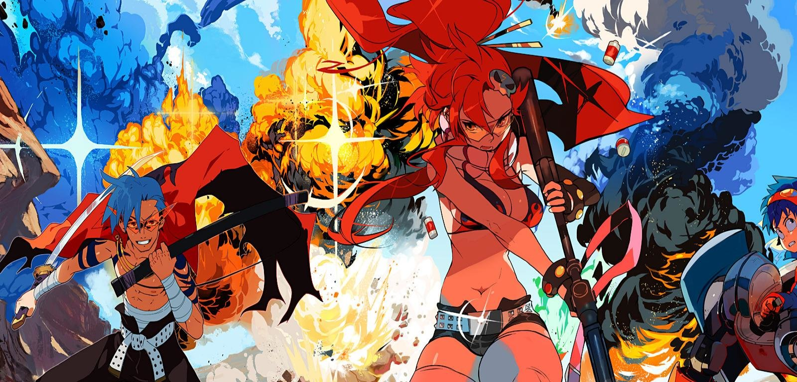 Yoko littner wallpapers hd for desktop backgrounds - Gurren lagann wallpaper ...