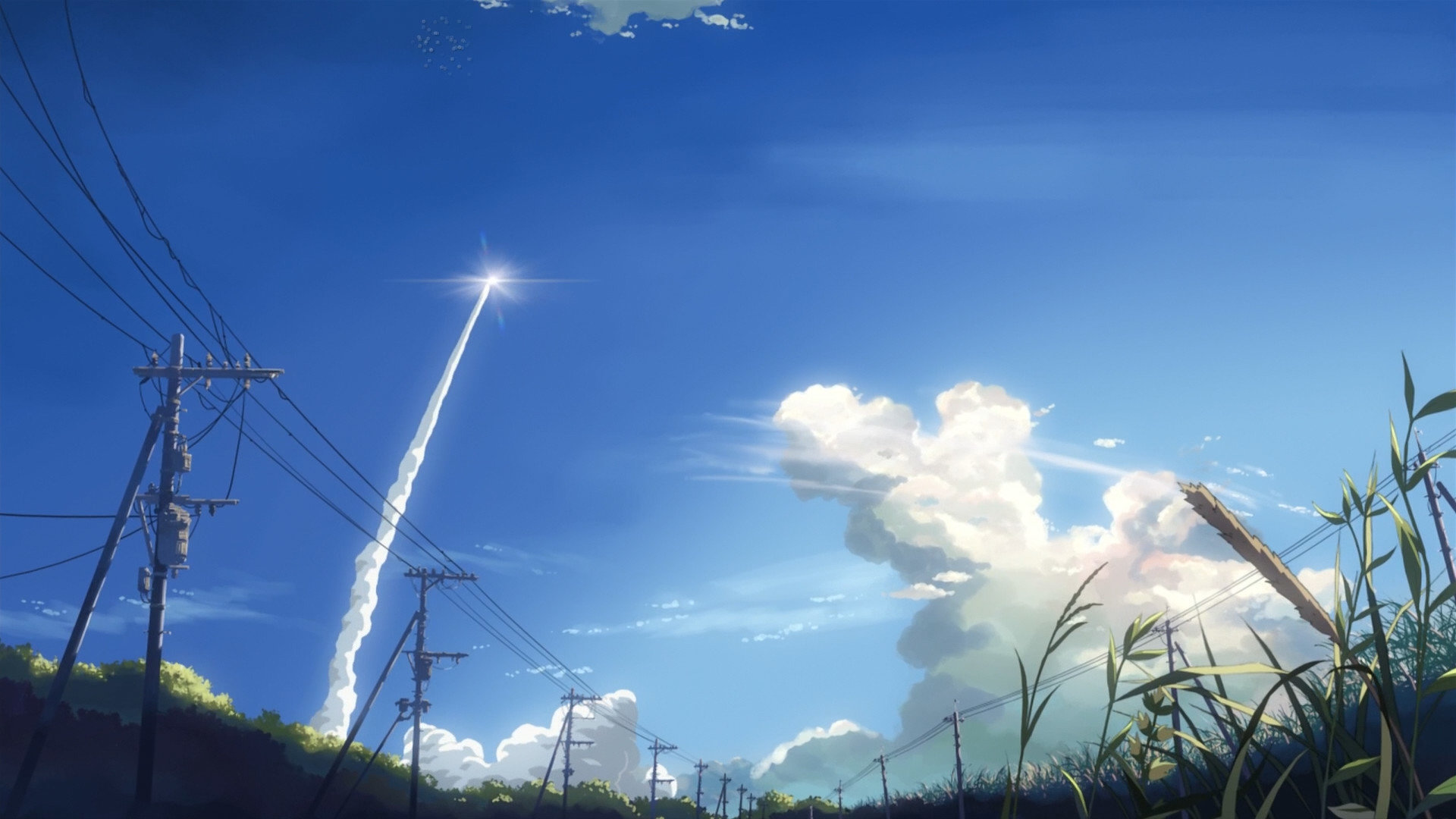 Download hd 1920x1080 5 (cm) Centimeters Per Second desktop background ID:90111 for free