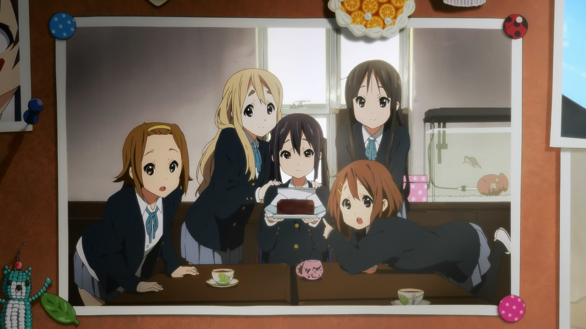Free K-ON! high quality background ID:212513 for 1080p desktop