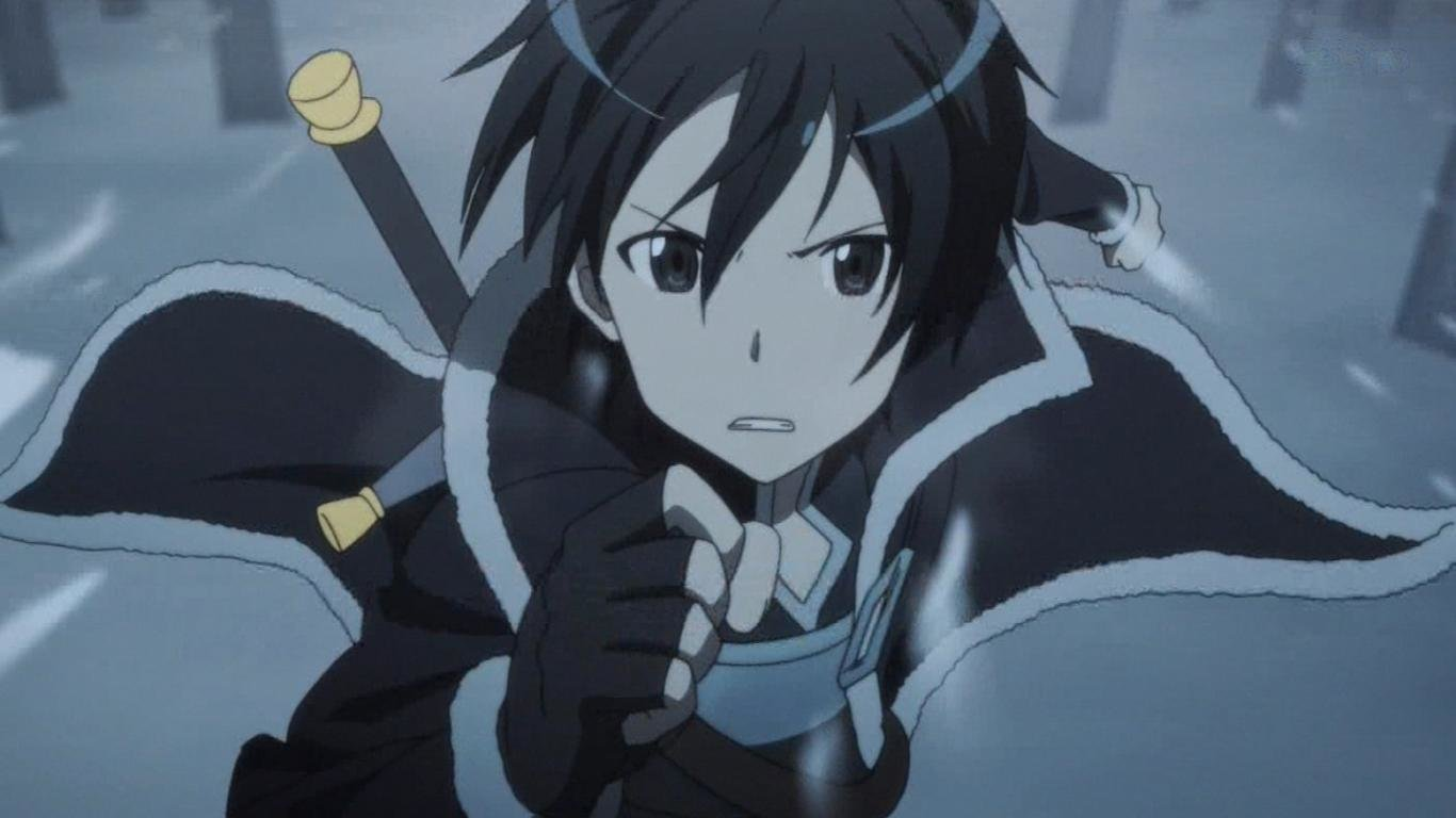 Awesome Kirito (SAO) free background ID:181011 for laptop computer