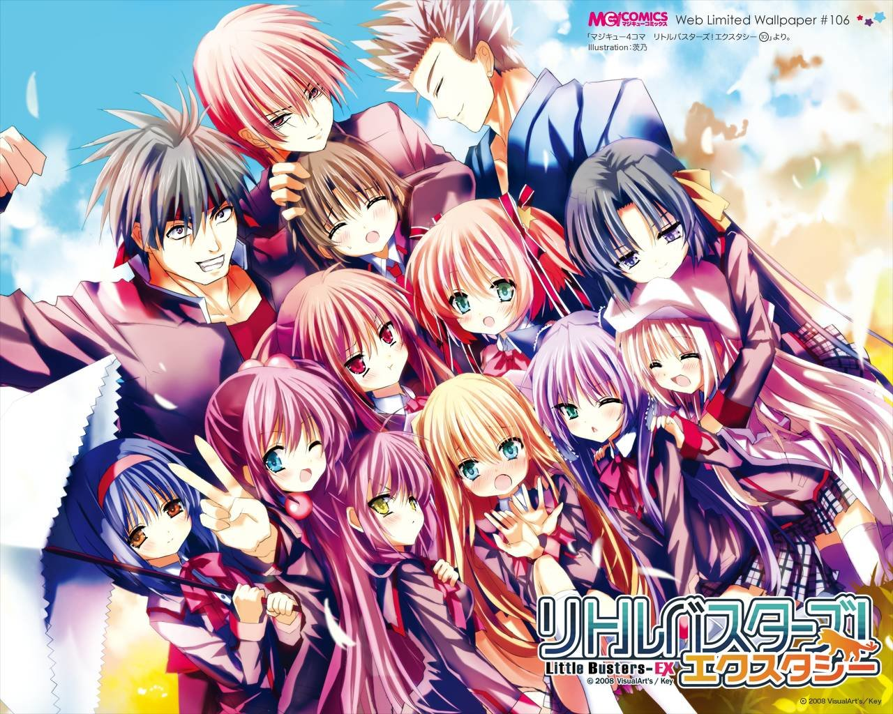 Download hd 1280x1024 Little Busters! computer background ID:164777 for free